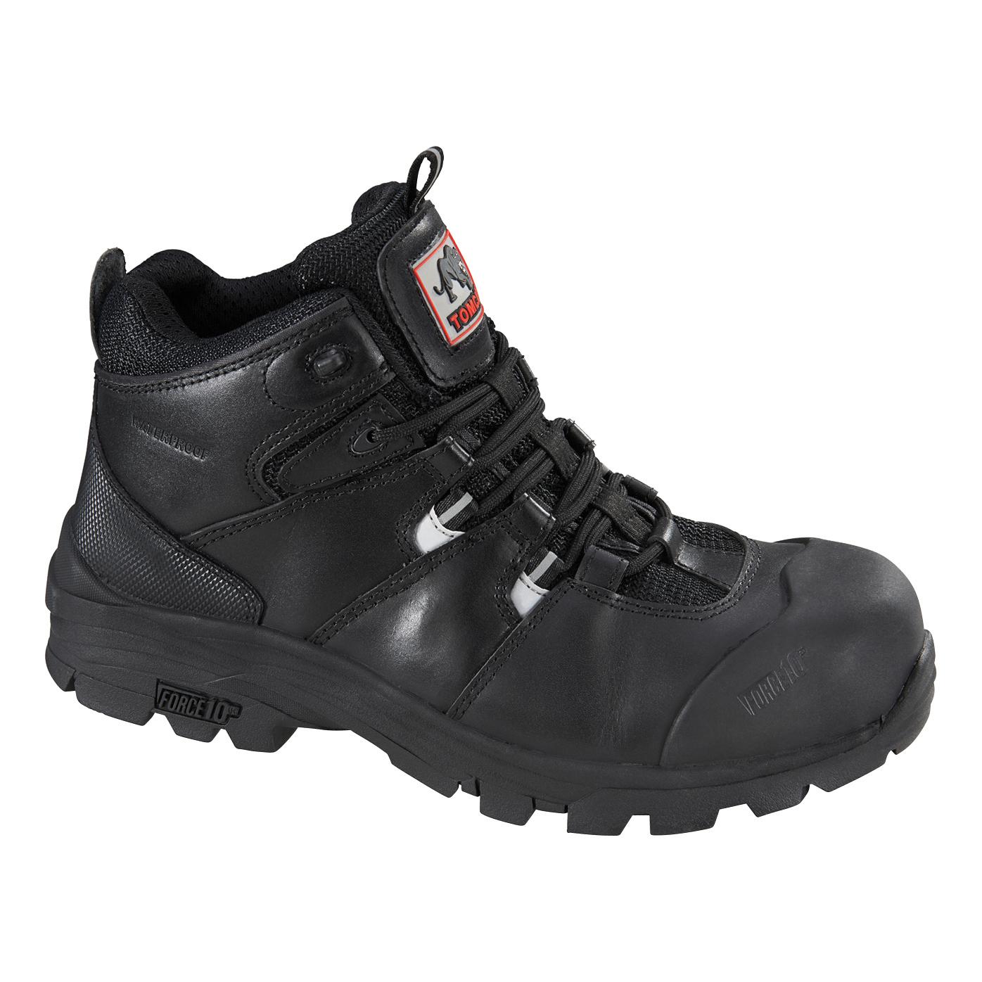 Footwear Rockfall Peakmoor Hiker 100% Non-Metallic Fibreglass Toecap Size 7 Blk Ref TC4200-7 *5-7 Day Leadtime*