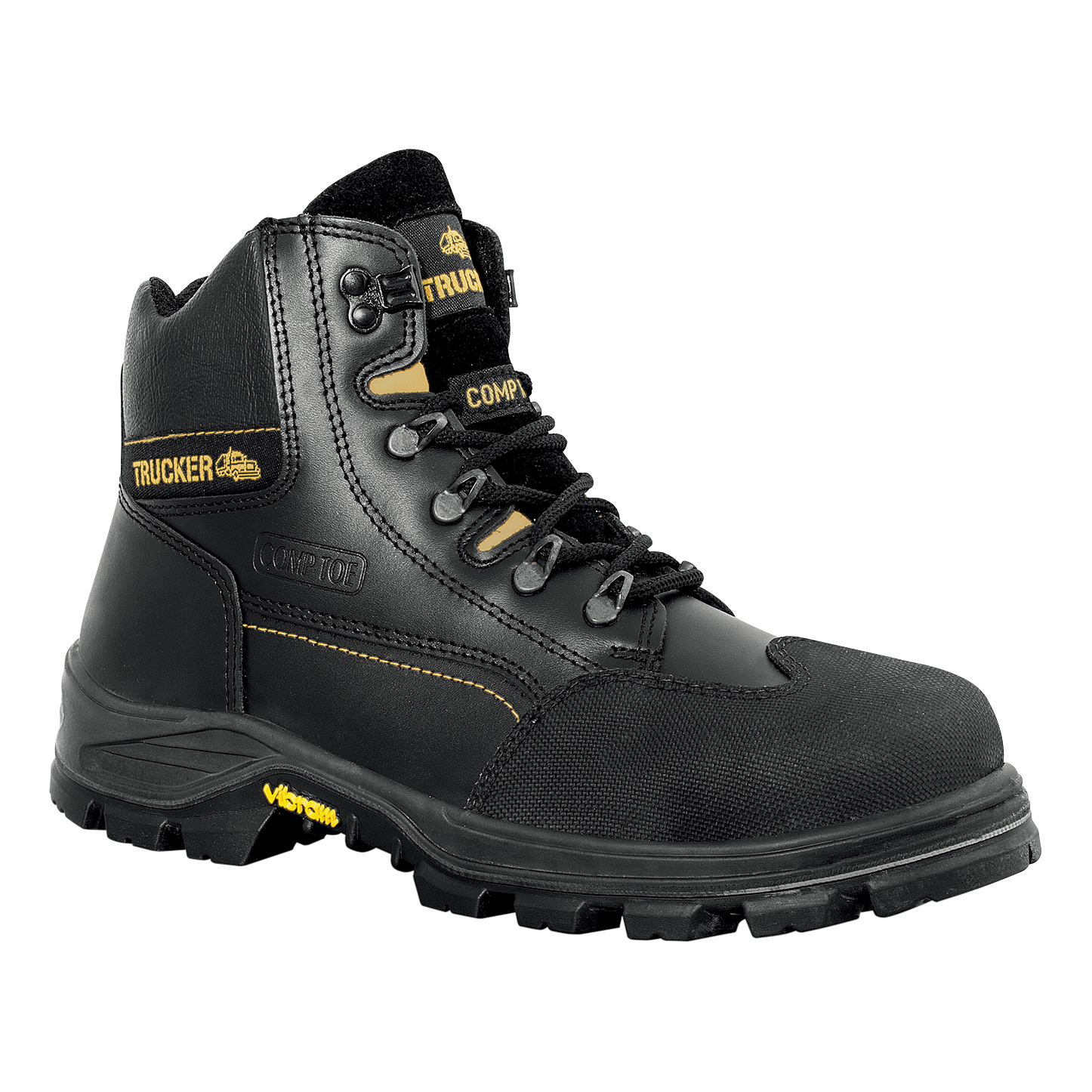 Aimont Revenger Safety Boots Protective Toecap Size 10 Black Ref 7TR0610 [Pair]