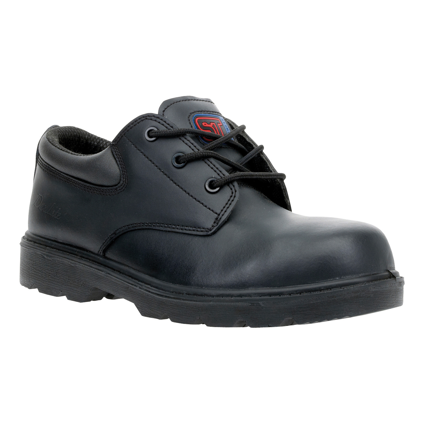 ST Dax Lite Air Comp' Shoe Metal Free Safety Toecap & Midsole Size 9 Blk Ref 90864 *Approx 3 Day L/Time*