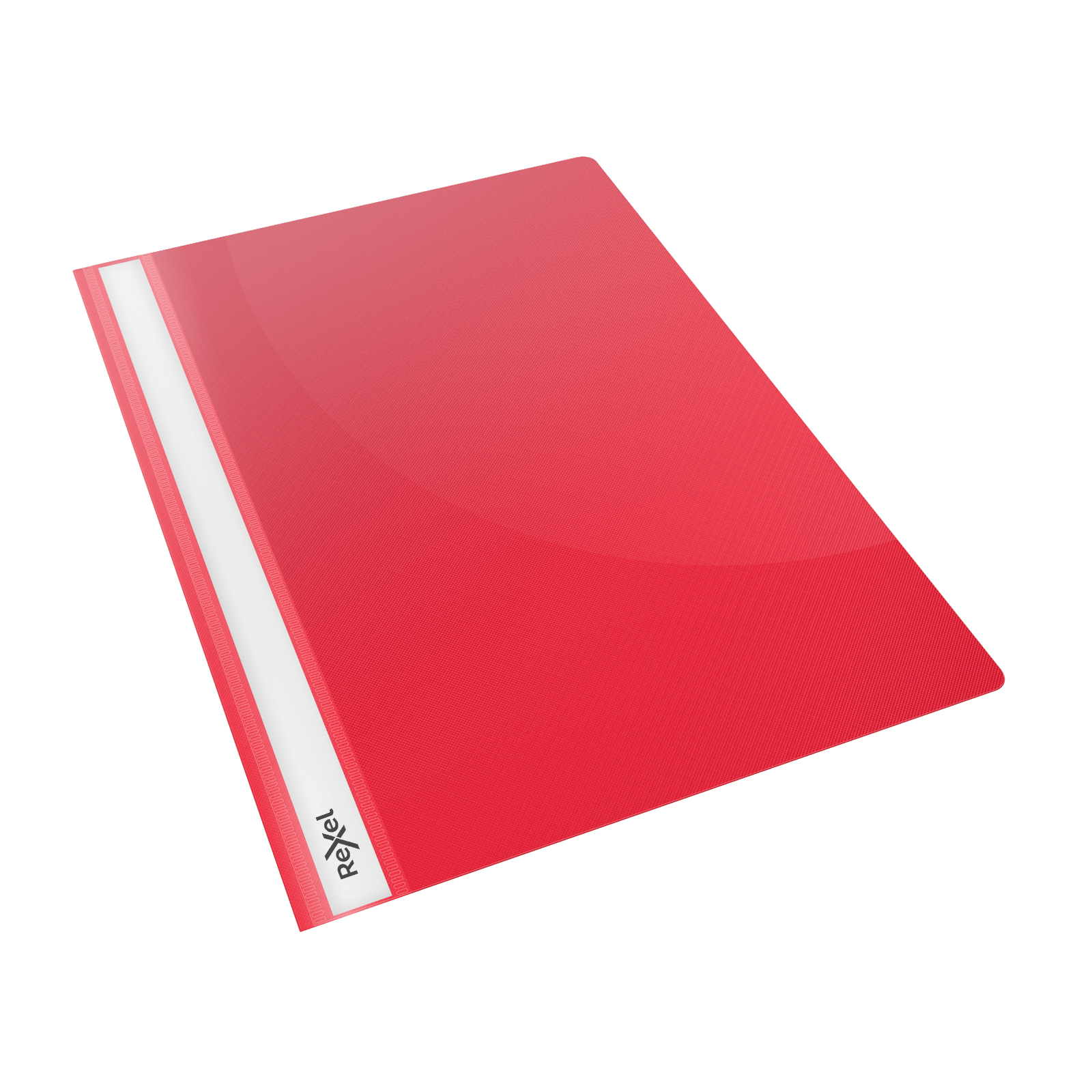 Rexel Choices Report Fldr Clear Front Capacity 160 Sheets A4 Red Ref 2115642 [Pack 25]