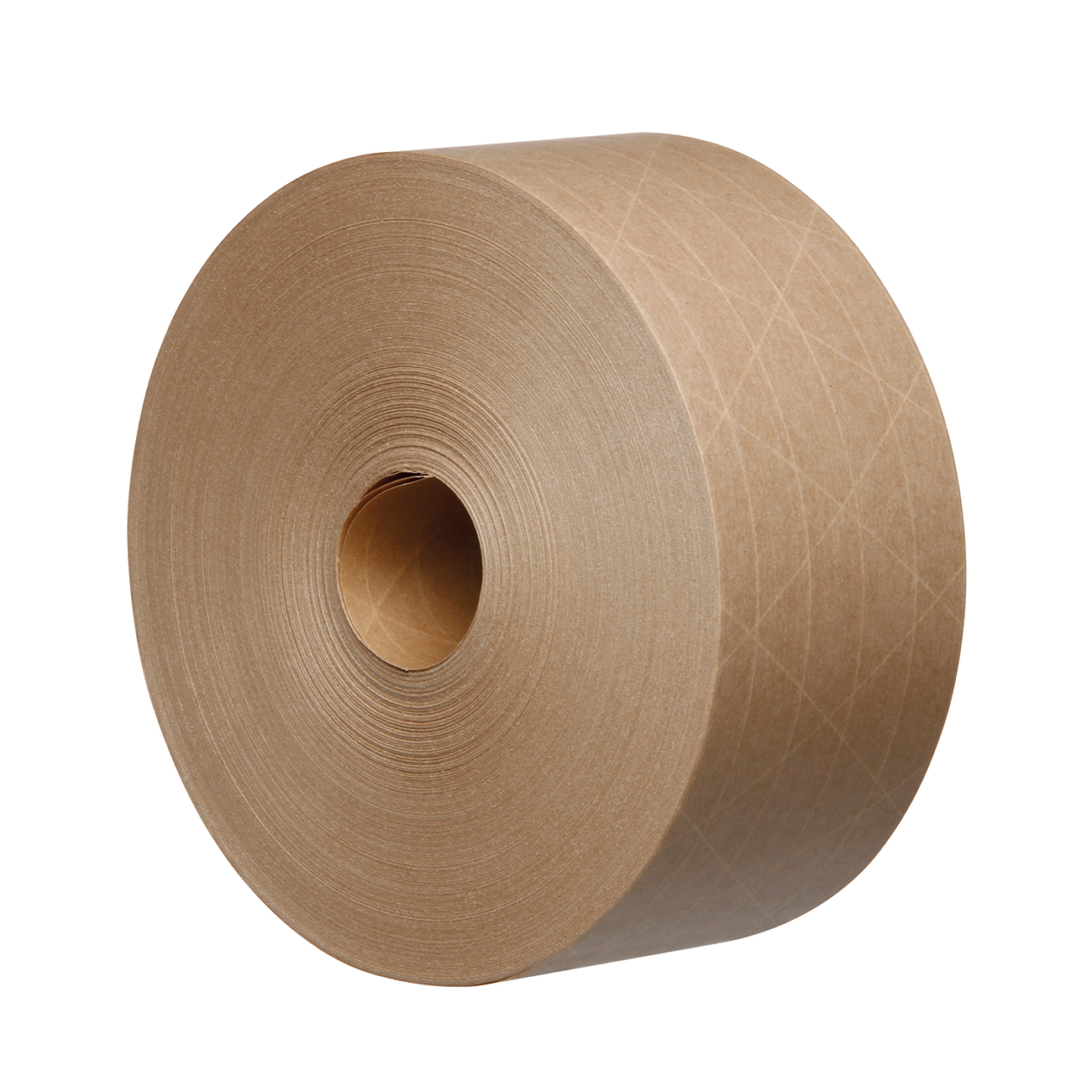 Packaging tape Reinforced Water Activated Kraft Tape Recycable 125gsm 70mmx100mtr Brown Ref KR7010B-GSI Pack 16