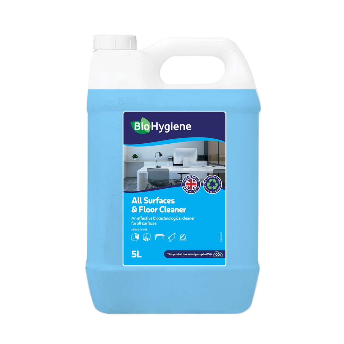 Floor cleaners BioHygiene All Surfaces & Floor Cleaner 5L Ref BH178