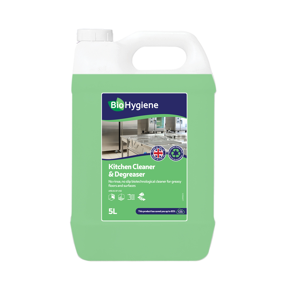 General purpose cleaners BioHygiene Kitchen Cleaner & Degreaser 5L Ref BH193