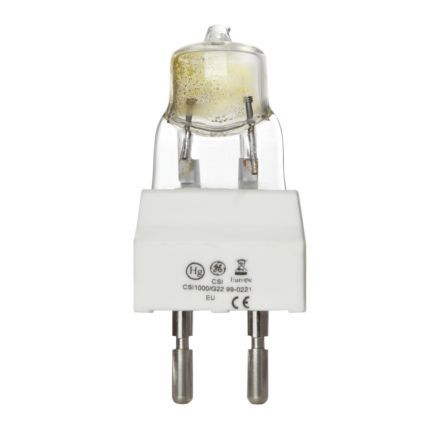 Image for GE 1000W CSI/CID Tubular G22 Showbiz Discharge Bulb 90000lm Ref88494 A PlusRating Up to 10Day Leadtime