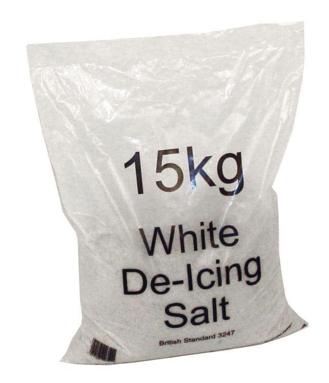 Salt Bag De-icing 15kg [Packed 72]