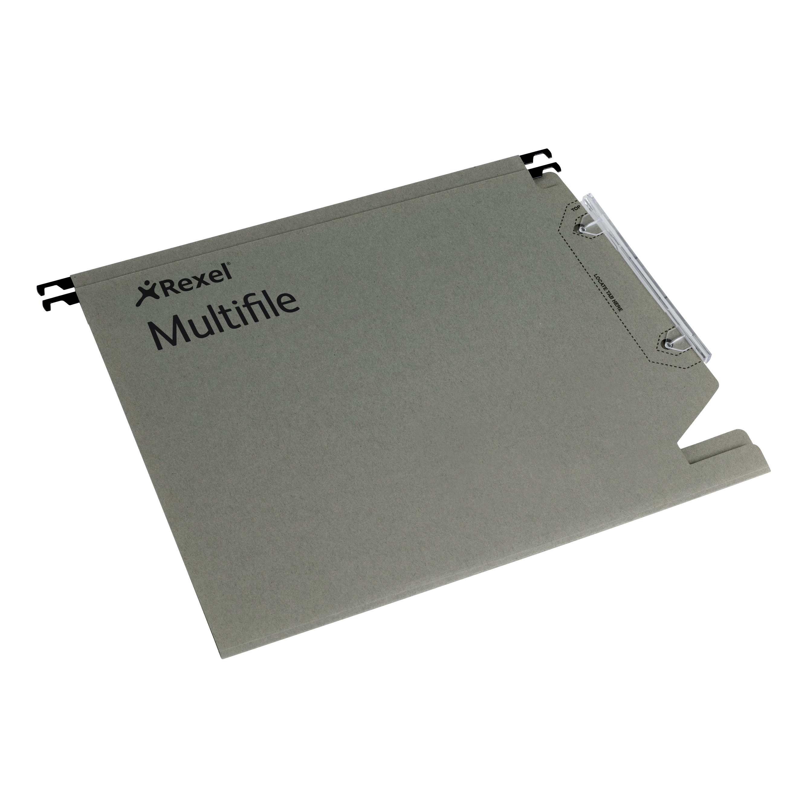 Lateral Files Rexel Multifile Lateral Susp Files Manilla 15mm V-base 330mm Runner 210gsm A4 Green Ref 78080 Pack 50