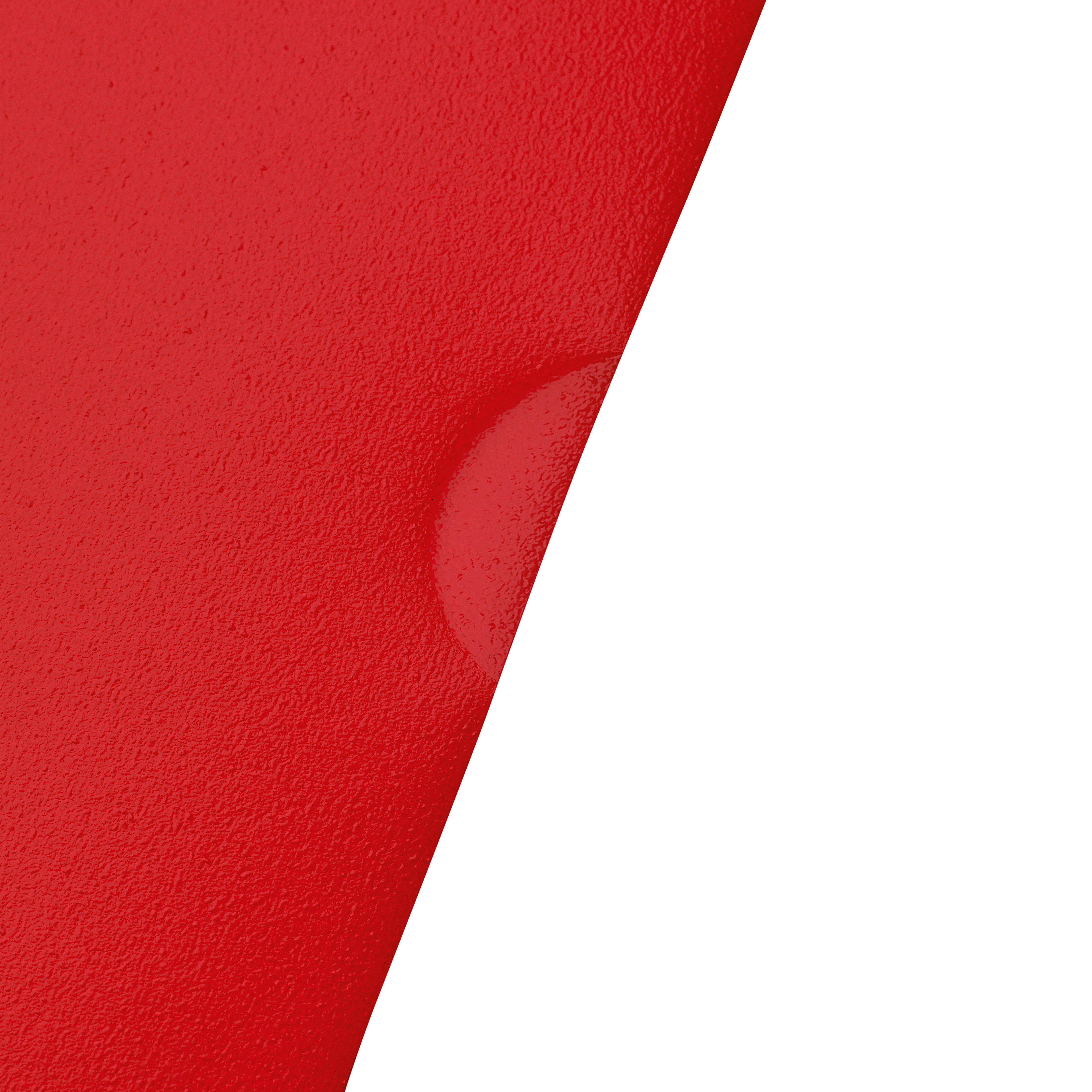 5 Star Office Folder Embossed Cut Flush Polypropylene Copy-safe Translucent 110 Micron A4 Red [Pack 25]
