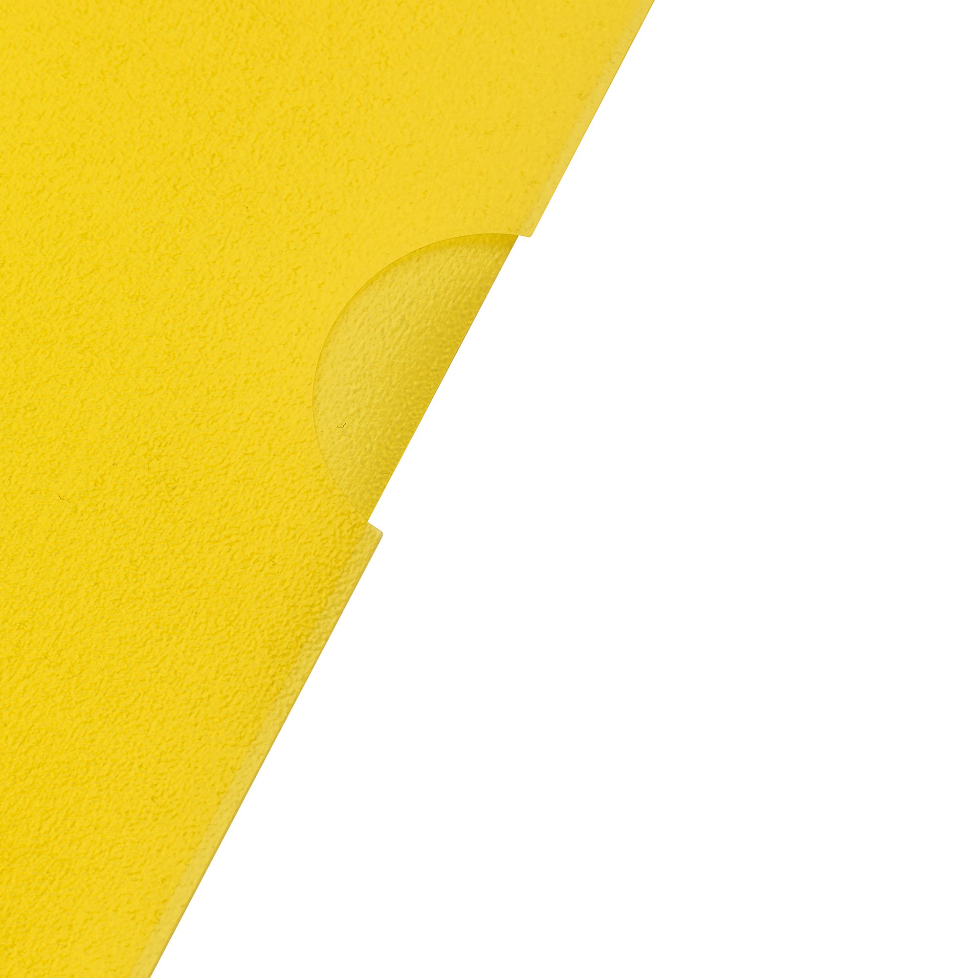 5 Star Office Folder Embossed Cut Flush Polypropylene Copy-safe Translucent 110 Micron A4 Yellow Pack25