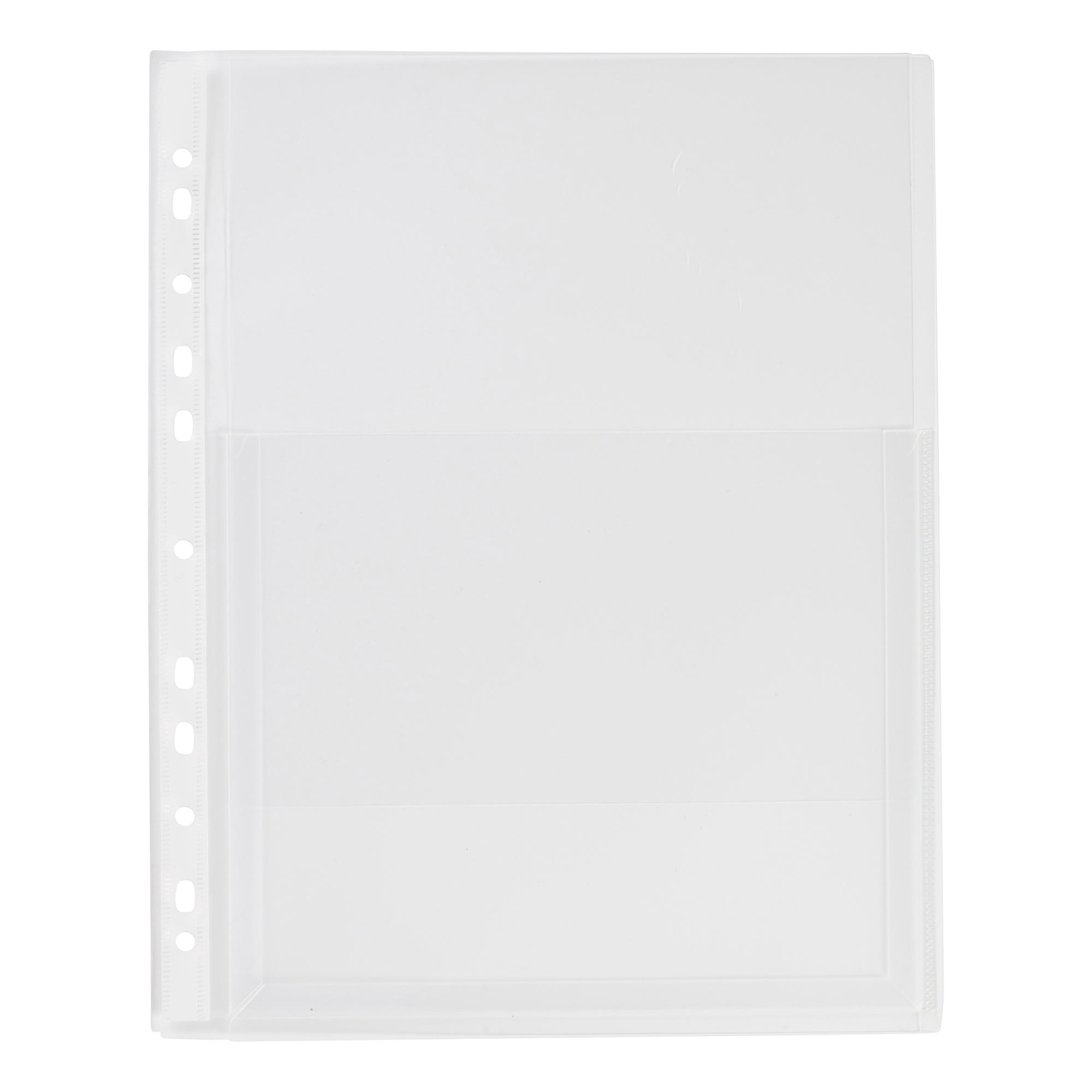 5 Star Elite Expanding Punched Pocket with Flap Polypropylene Top-opening 170 Micron A4 Clear [Pack 10]