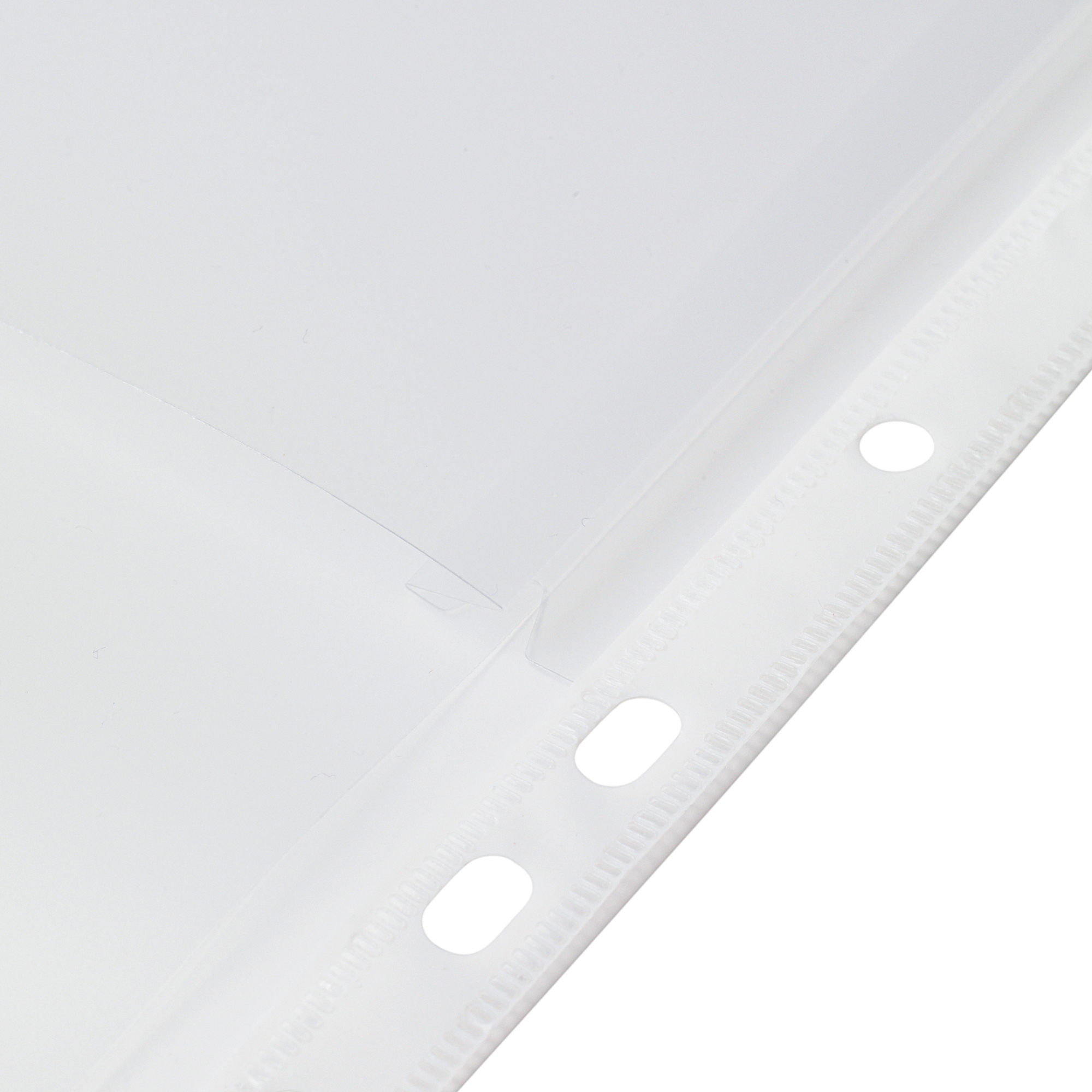 Image for 5 Star Elite Expanding Punched Pocket with Flap Polypropylene Top-opening 170 Micron A4 Clear [Pack 10]