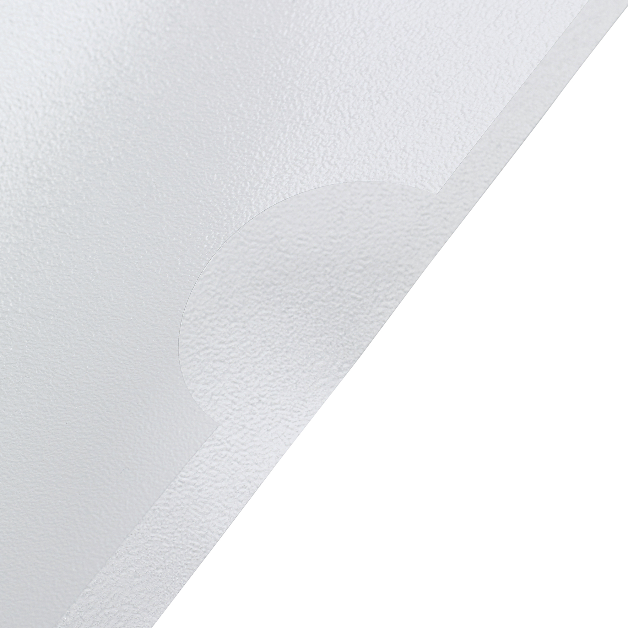 5 Star Office Folder Embossed Cut Flush Polypropylene with Thumb Hole 90 Micron A4 Clear Pack 100