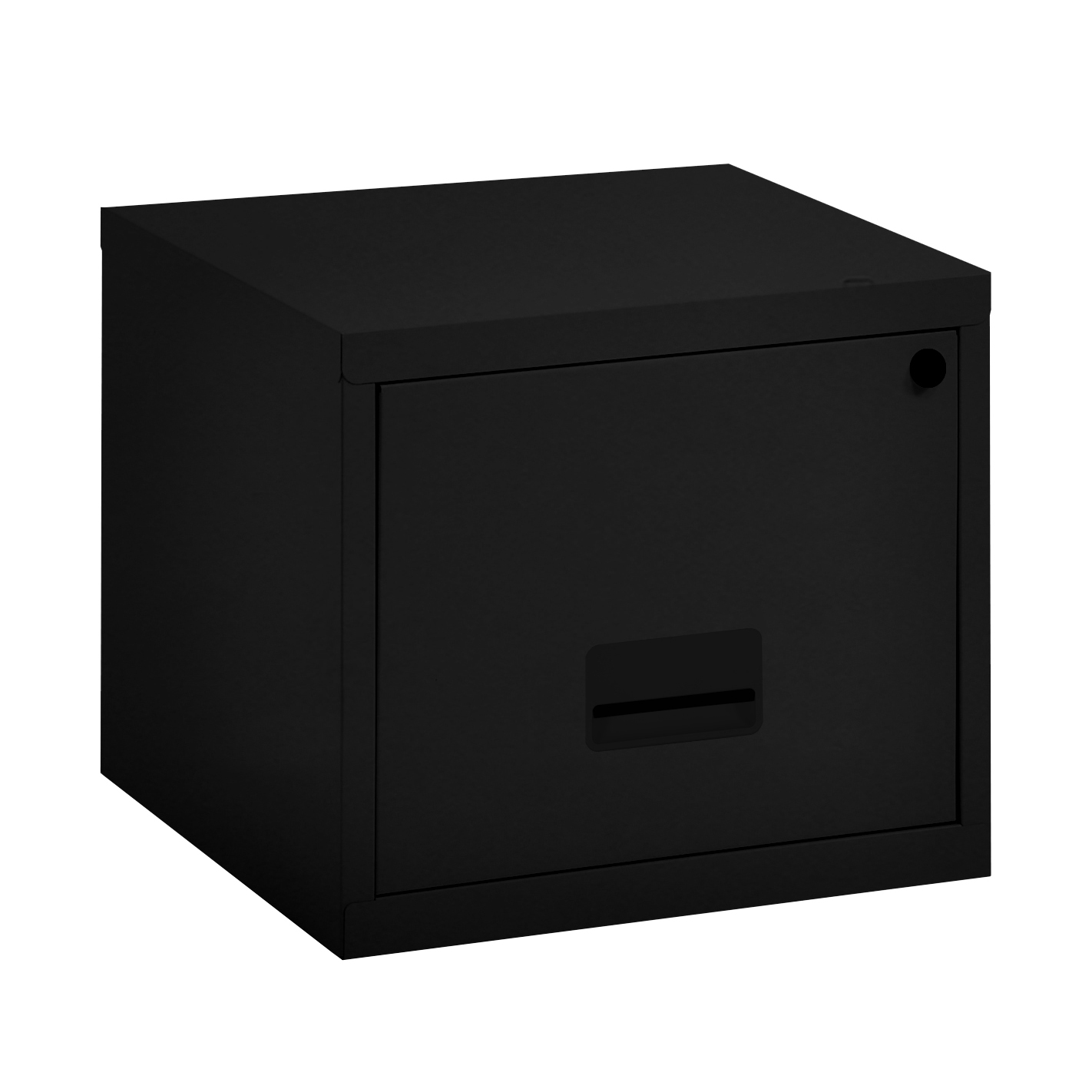 Filing cabinets or accesories Filing Cabinet Steel 1 Drawer A4 400x400x370mm Ref 99001