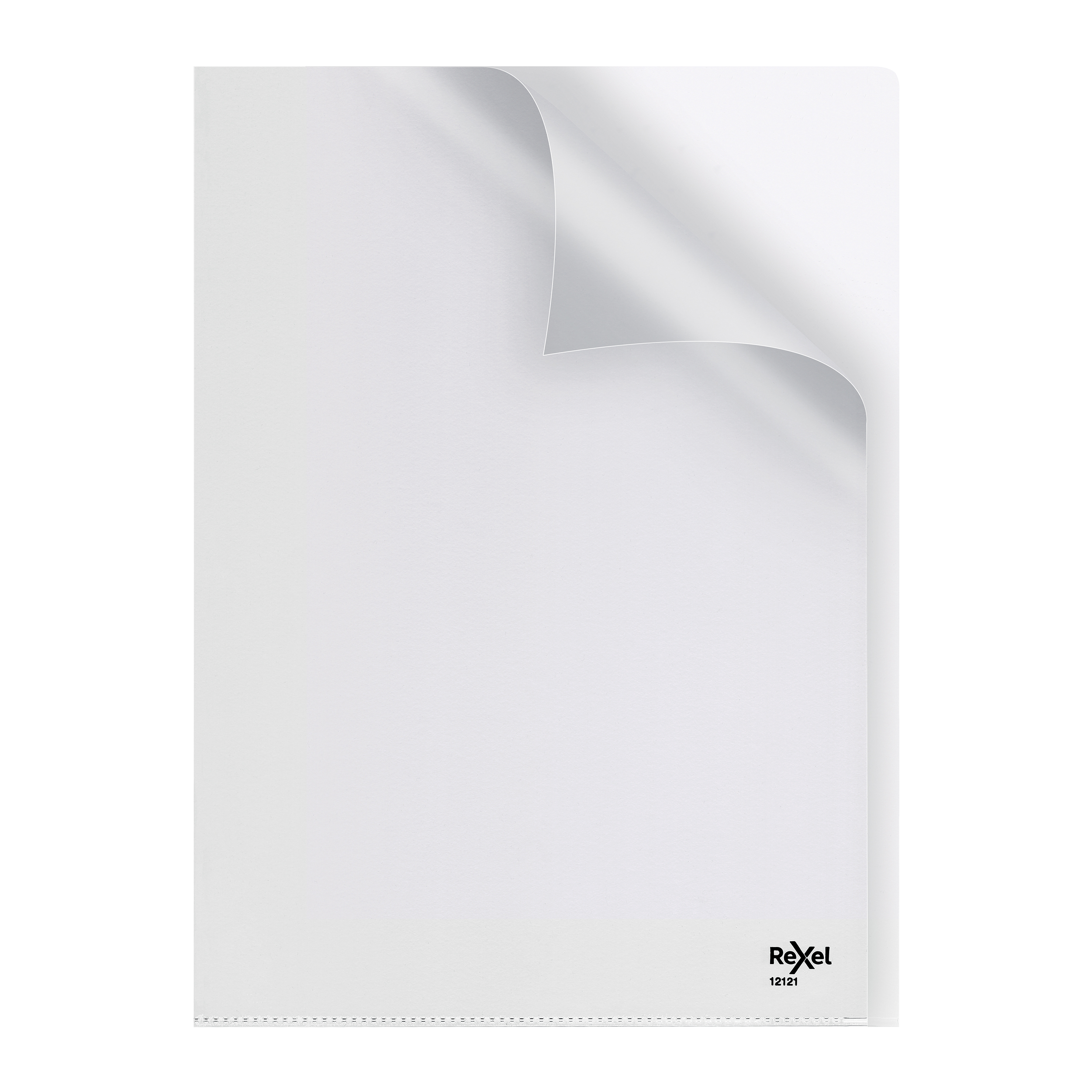 Rexel Nyrex Folder Cut Back A4 Clear Ref 12121 Pack 25