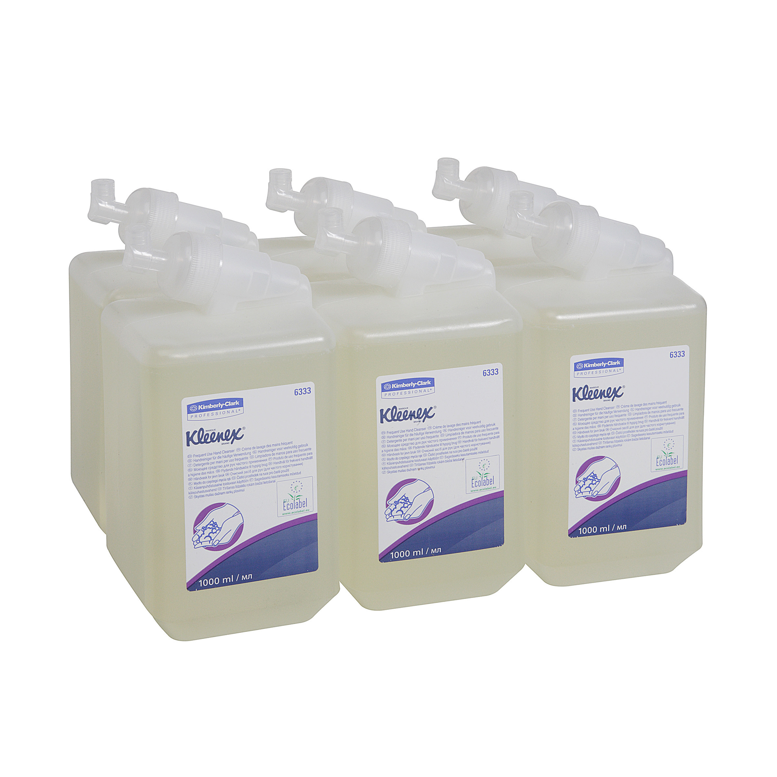 Kleenex Frequent Use Handwash Cassette 1 Litre Ref 6333 Pack 6
