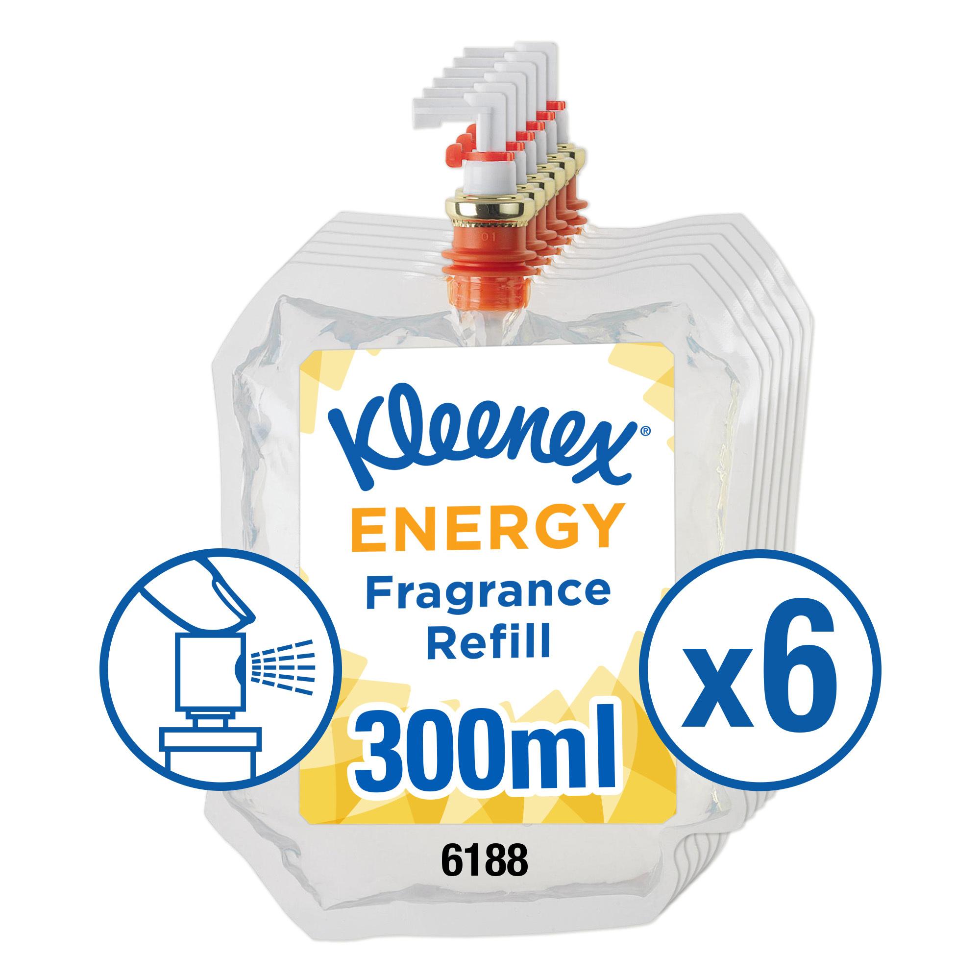 Air freshener Kleenex Botanics Botanics Aircare Energy Refill 300ml Ref 6188 Pack 6