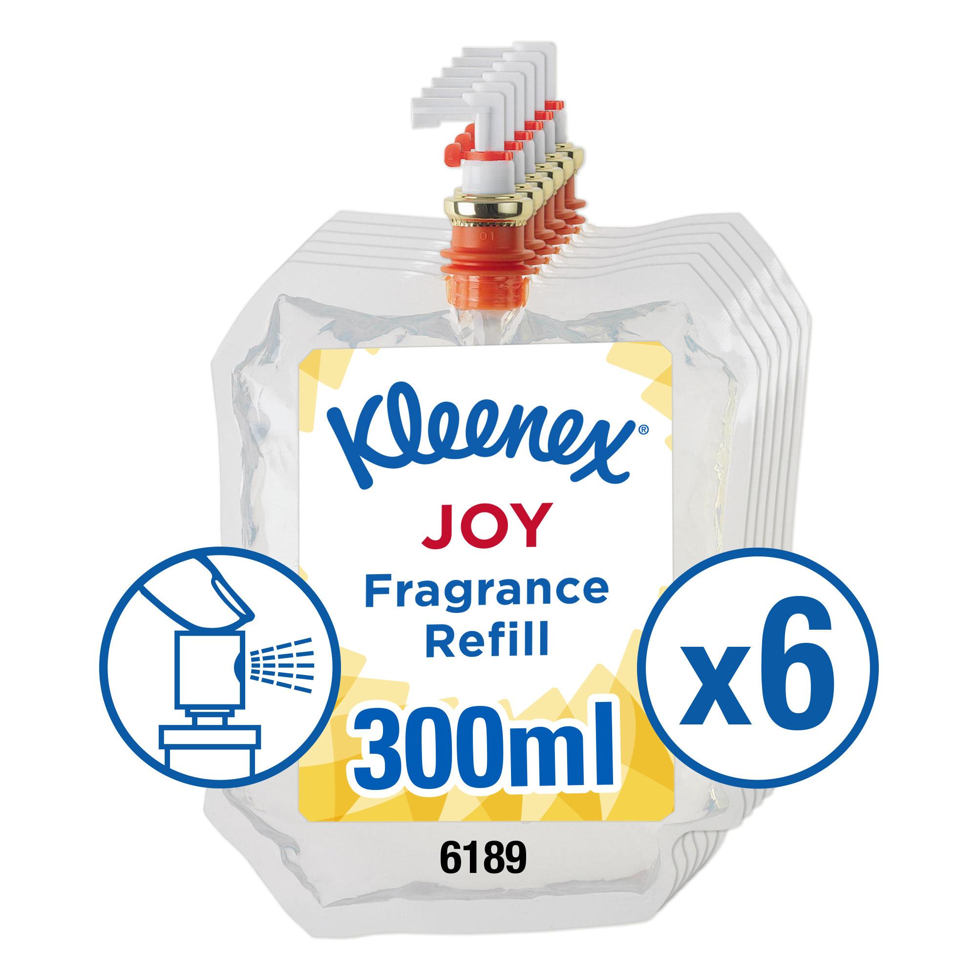 Air freshener Kleenex Botanics Botanics Aircare Joy Refill 300ml Ref 6189 Pack 6