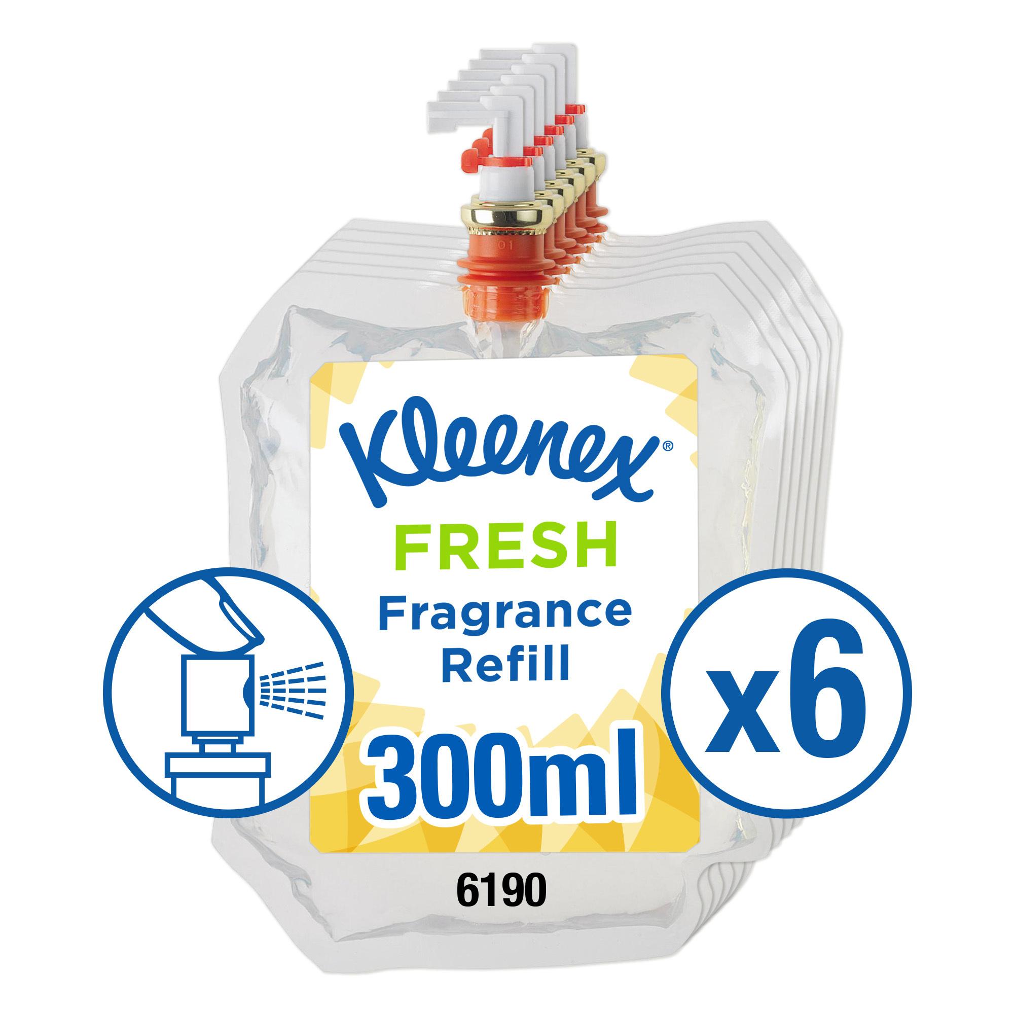 Air freshener Kleenex Botanics Botanics Aircare Fresh Refill 300ml Ref 6190 Pack 6