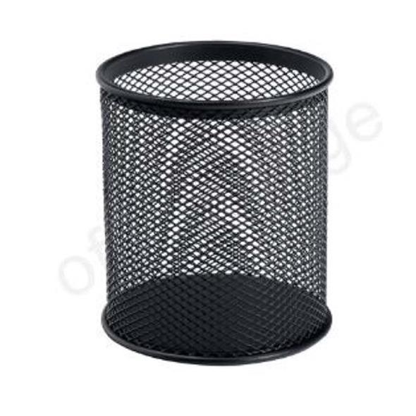 Business Pencil Holder Wire Mesh Black Ref 30093