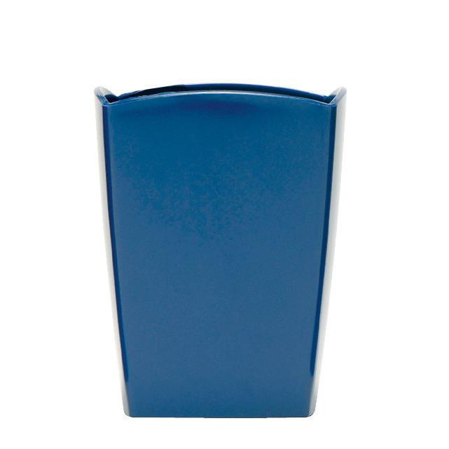 Business Premium Pencil Pot W74xD74xH105mm Cobalt Blue