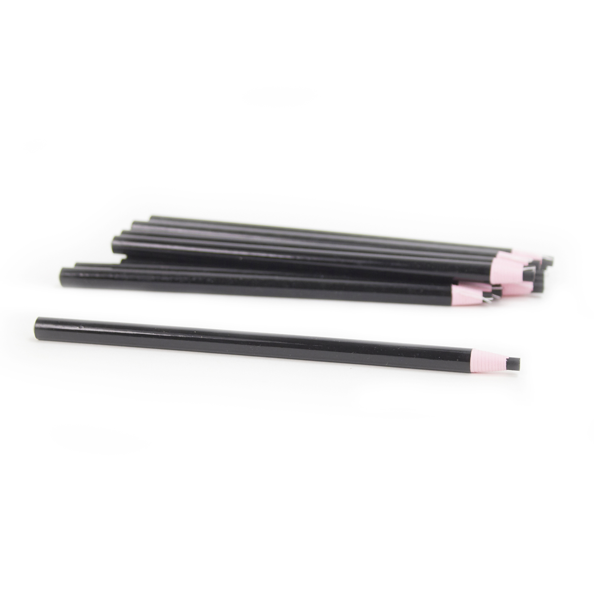 5 Star Office China Graph Pencil 4mm Column Non-toxic Black [Pack 12]
