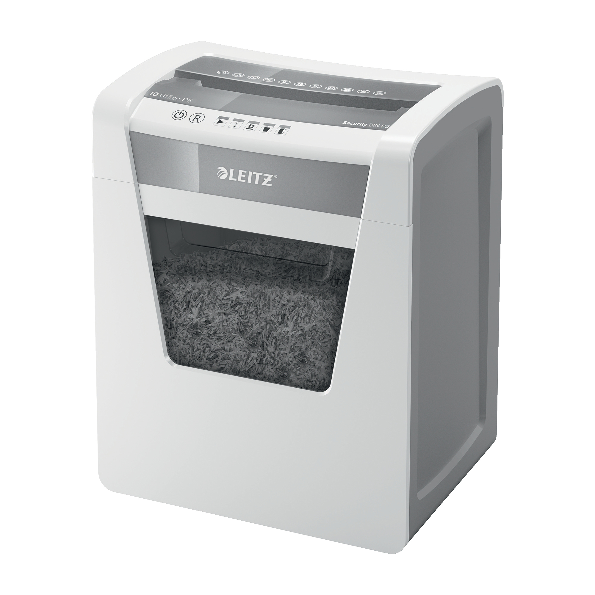 Paper Shredders Leitz Office IQ Shredder Micro Cut P-5 Ref 80021000