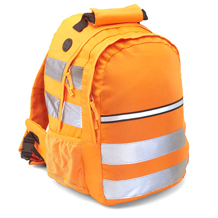 B-Seen Hi-Vis Rucksack 25 ltr Orange Ref CHVROR *Up to 3 Day Leadtime*