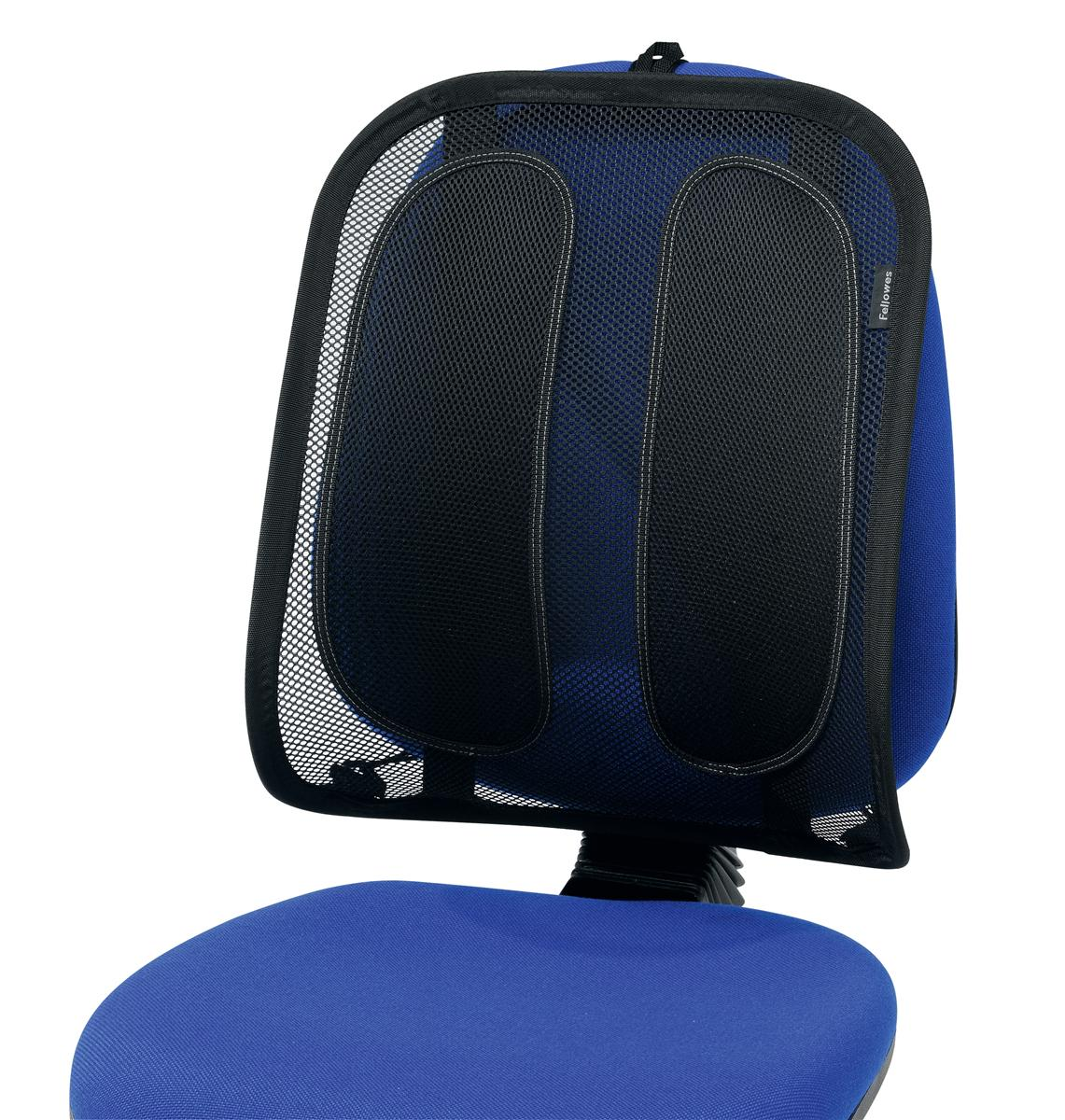 Image for Fellowes Office Suite Back Support Mesh Fabric with Tri-tensioner Attachment Ref 9191301