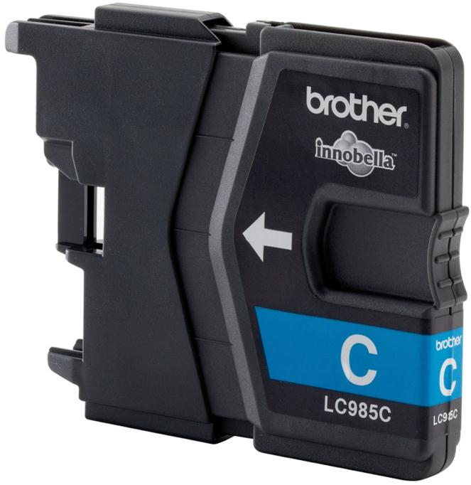 Brother Inkjet Cartridge Page Life 260pp Cyan Ref LC985C