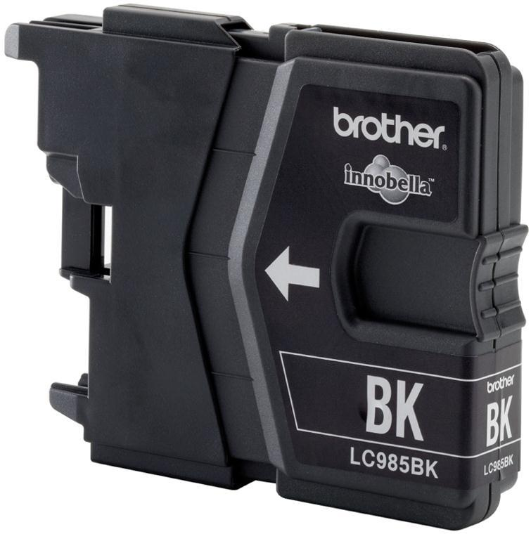 Brother Inkjet Cartridge Page Life 300pp Black Ref LC985BK