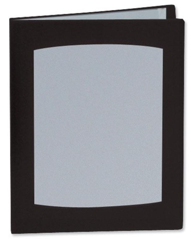 Image for Rexel Clearview Display Book 50 Pockets A4 Black Ref 10350BK