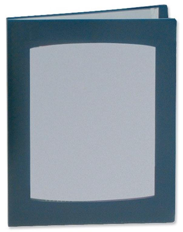 Image for Rexel Clearview Display Book 24 Pockets A4 Blue Ref 10320BU