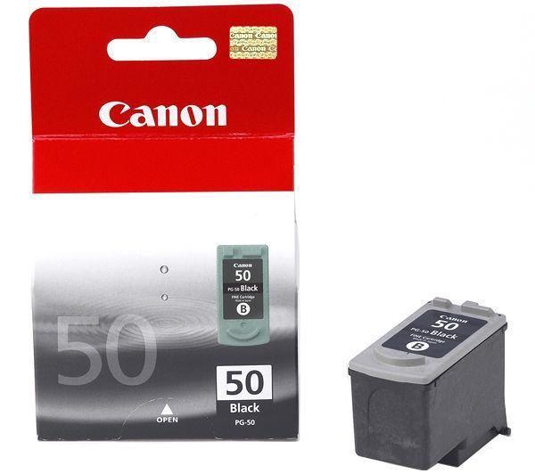 Canon PG-50 Inkjet Cartridge High Yield Page Life 750pp 22ml Black Ref 0616B001