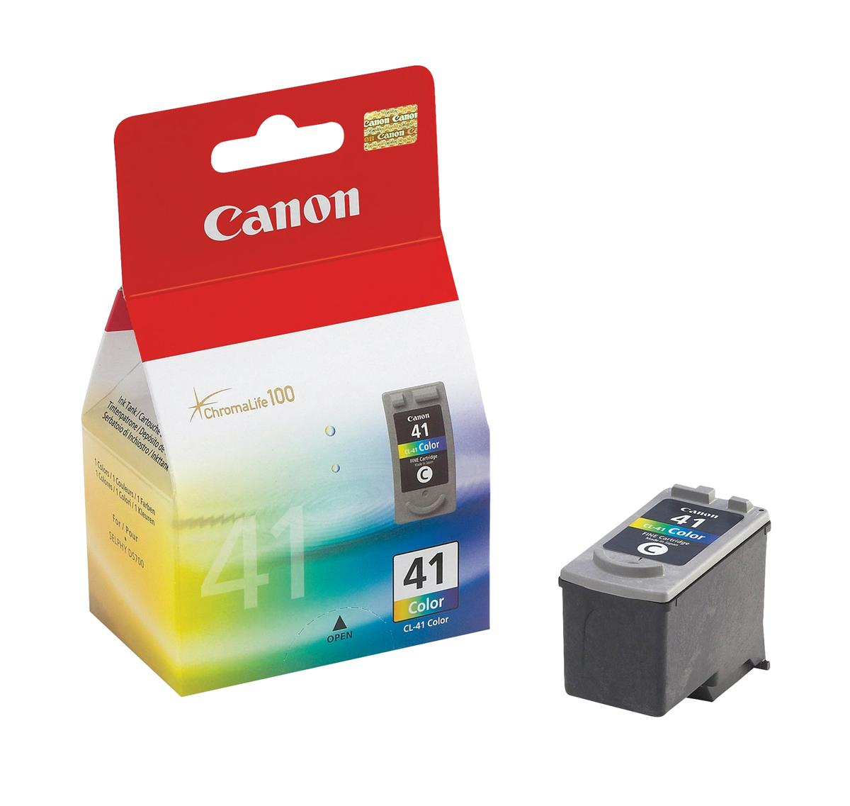 Canon CL-41 Inkjet Cartridge Page Life 312pp 12ml Colour Ref 0617B001