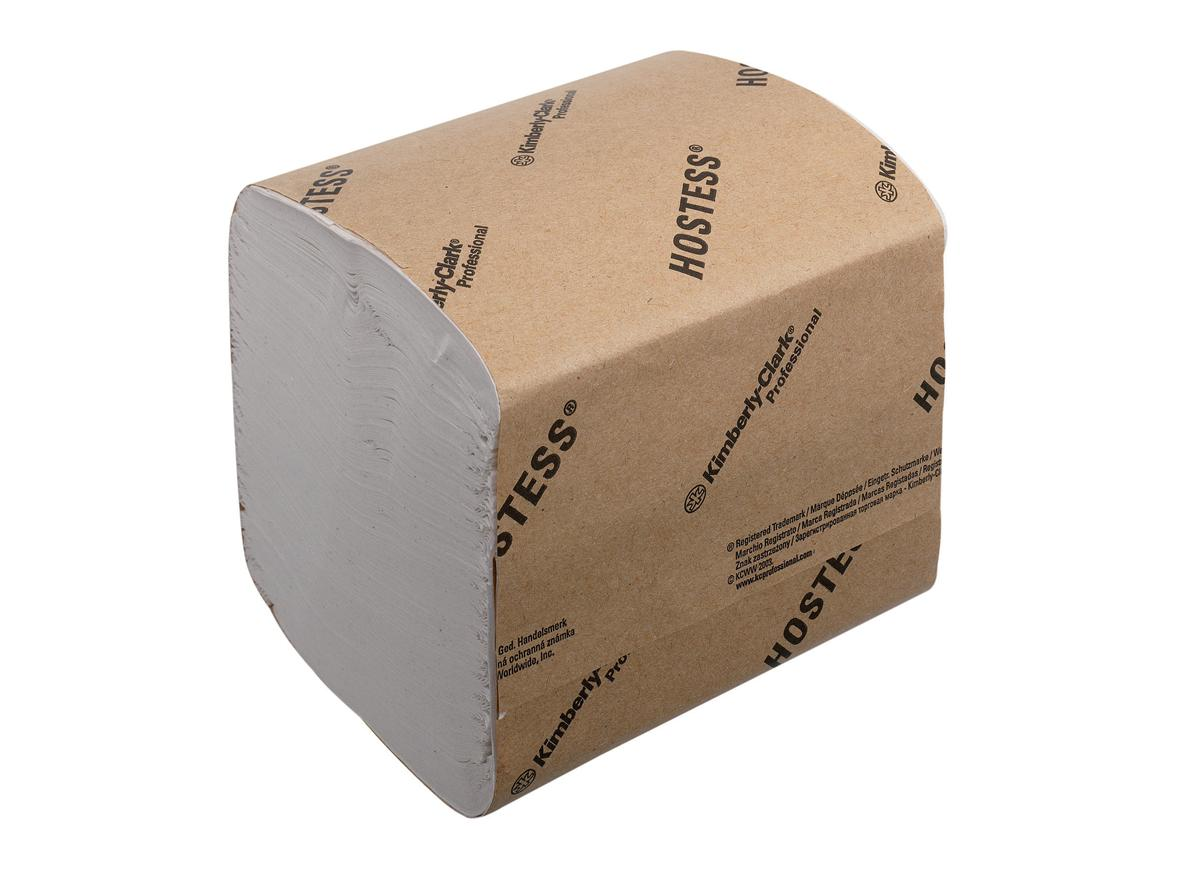 Hostess Toilet Tissue Bulk Recycled Biodegradable Sheet 186x114mm 520 Sheets Ref 4471 [36 Sleeves]