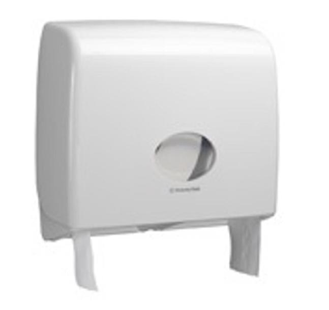 Kimberly-Clark Aqua Jumbo Toilet Tissue Dispenser W446xD129xH382mm White Ref 6991
