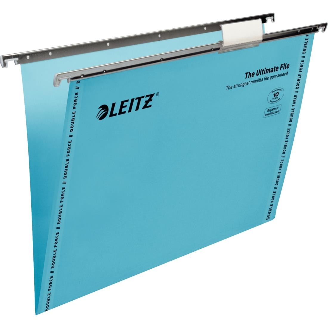 Image for Leitz Ultimate Suspension File Blue Ref 853755 [Pack 50]