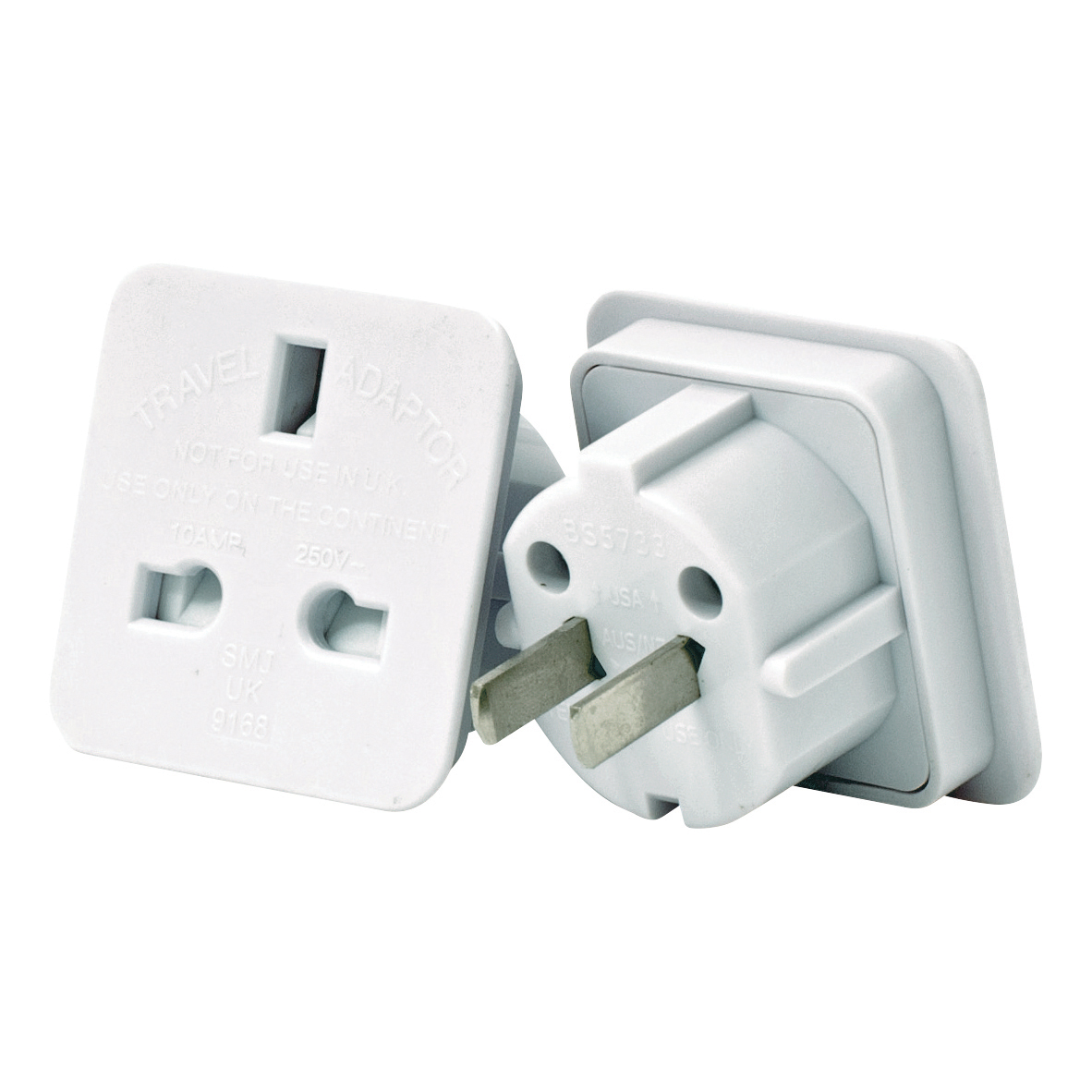 Worldwide Travel Adaptor Pack 2