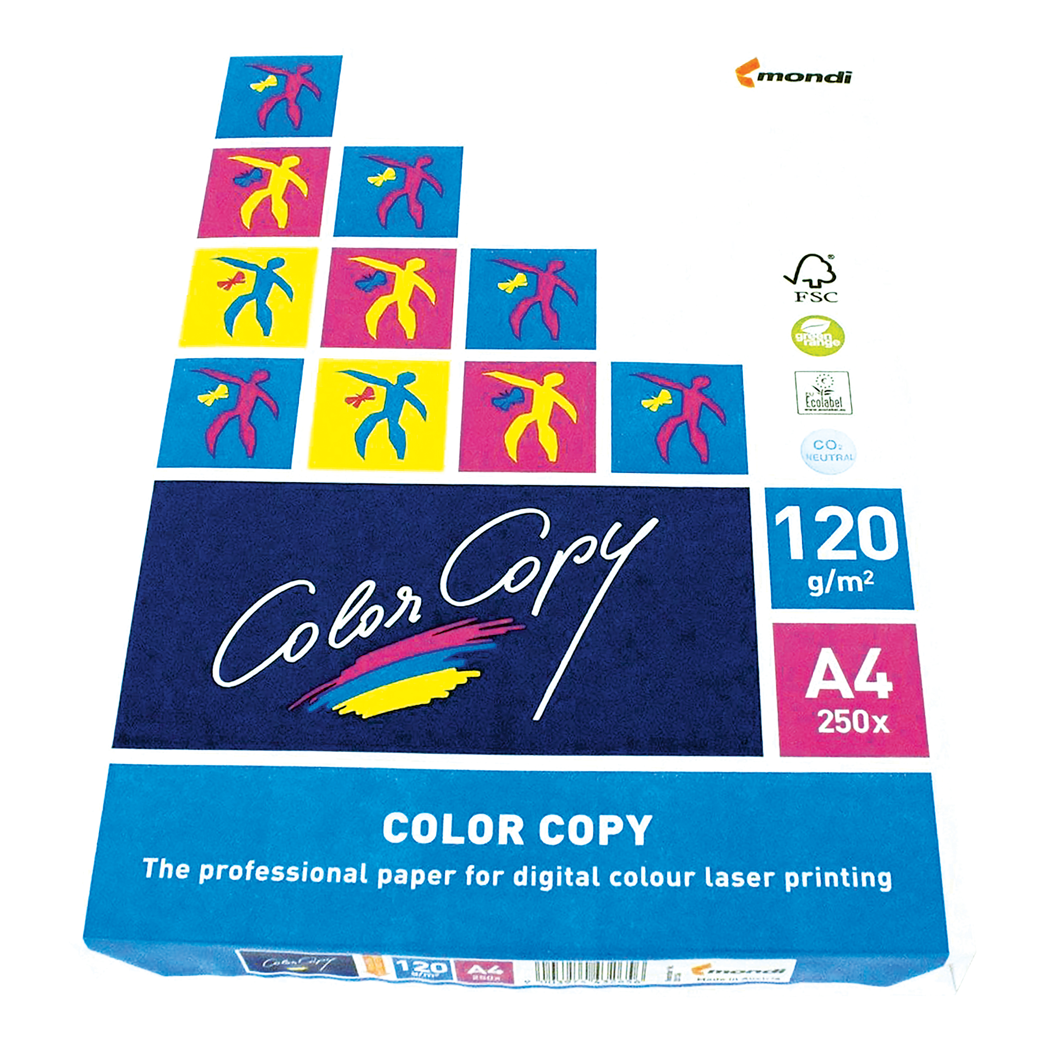 Color Copy Paper Premium Super Smooth 120gsm FSC A4 White Ref CCW0330 250 Sheets
