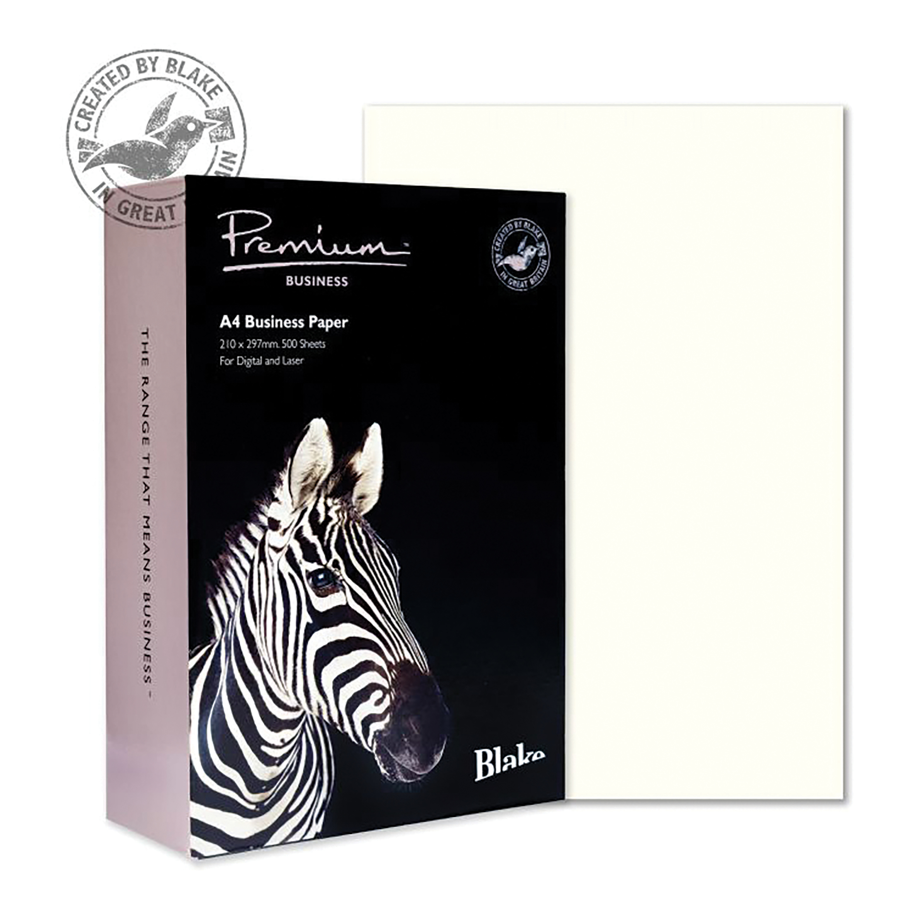 Blake Premium Business Paper Wove Finish 120gsm A4 High White [Pack 500] Ref 35677