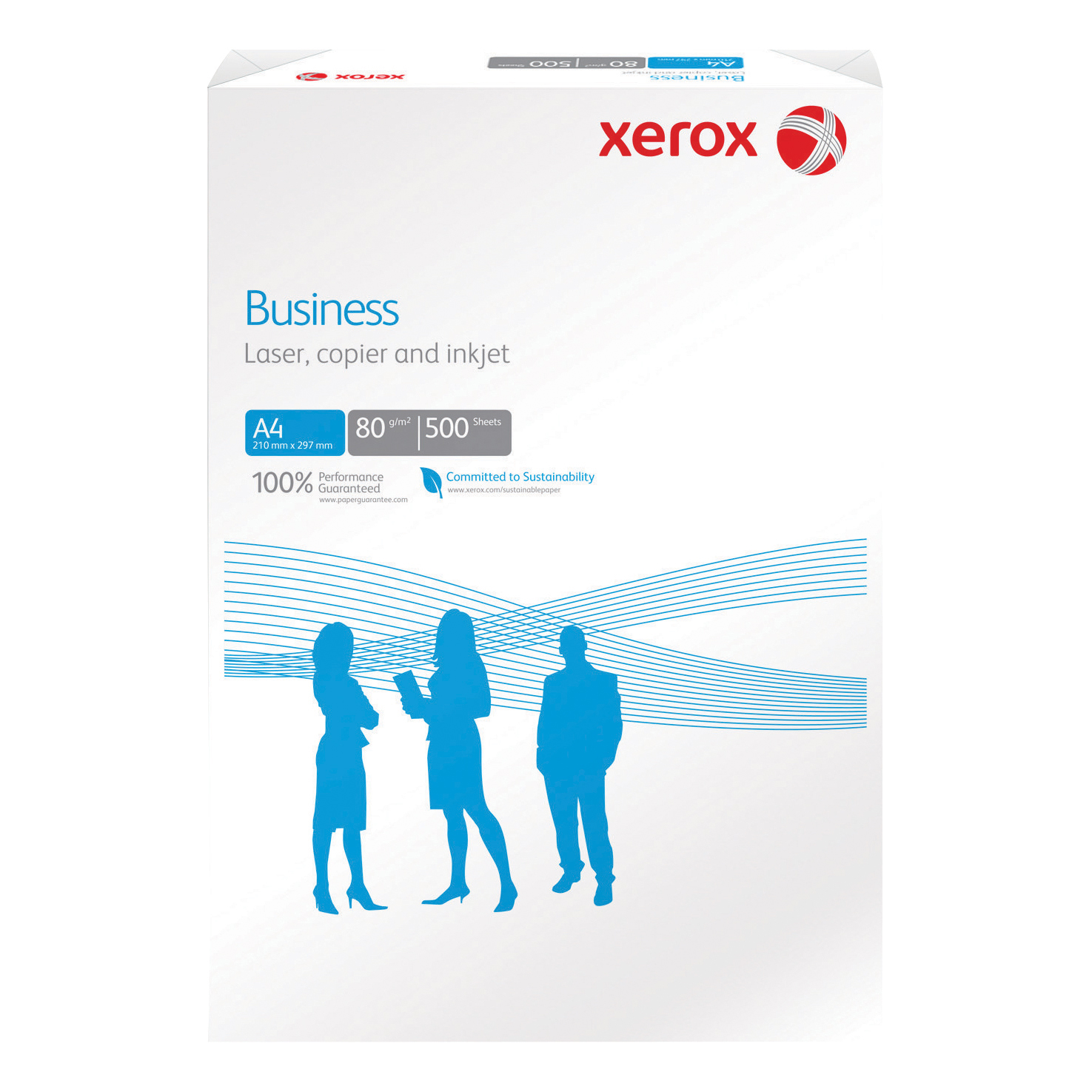 Xerox Business Multifunctional Paper Ream-Wrapped 80gsm A4 White Ref 62283 500 Sheets