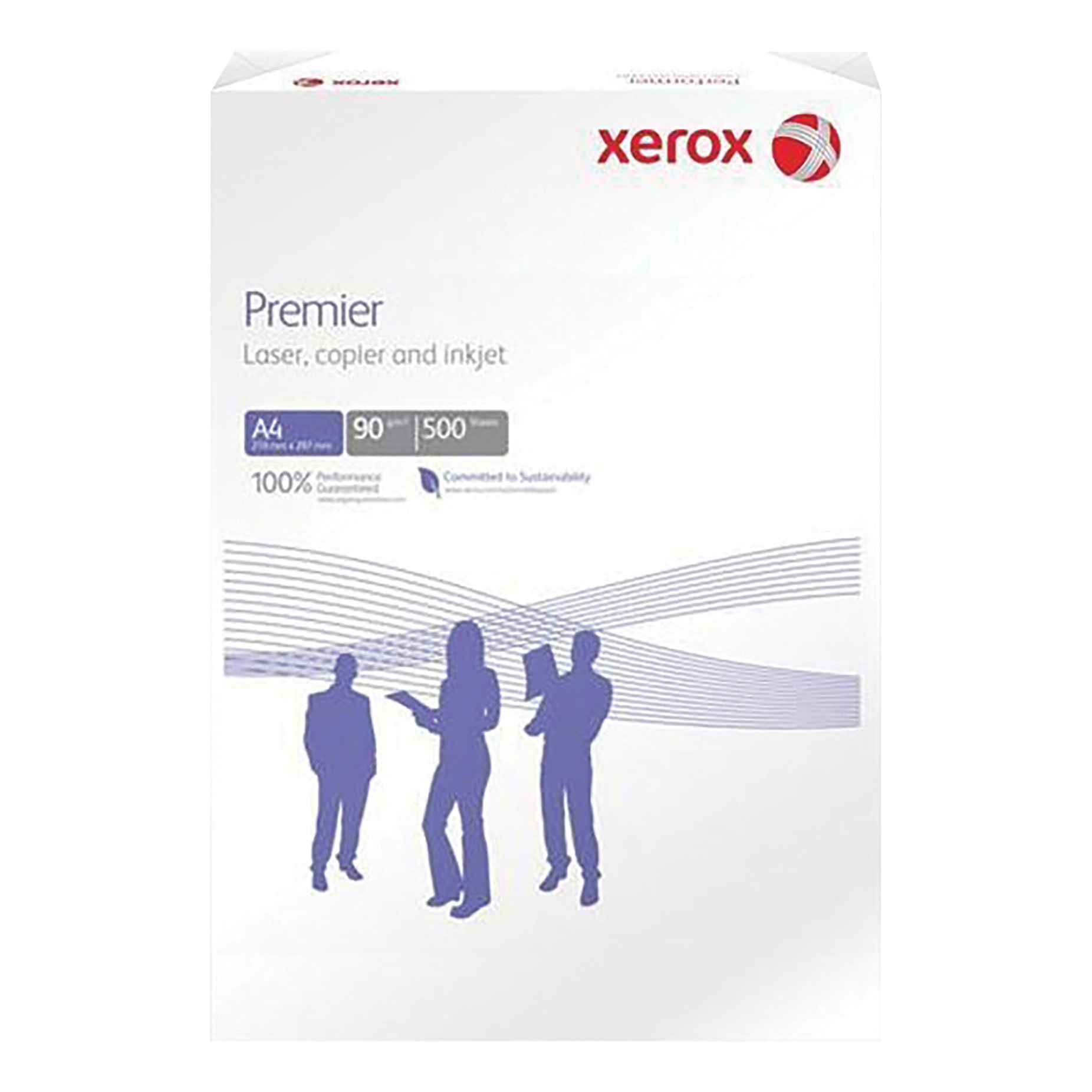 Xerox Premier Copier Paper Multifunctional Ream-Wrapped 90gsm A4 White Ref 62324 [500 Sheets]