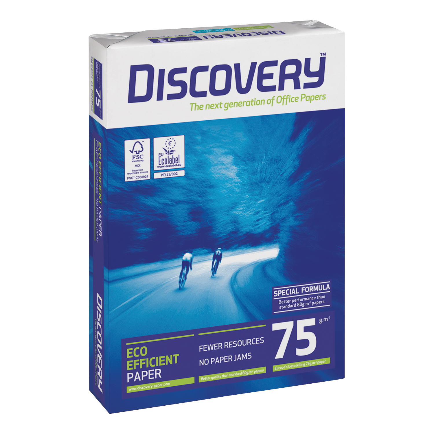 Discovery Everyday Paper FSC 5x Ream-wrapped Pks 75gsm A4 White Ref DIS0750073 [2500 Sheets]
