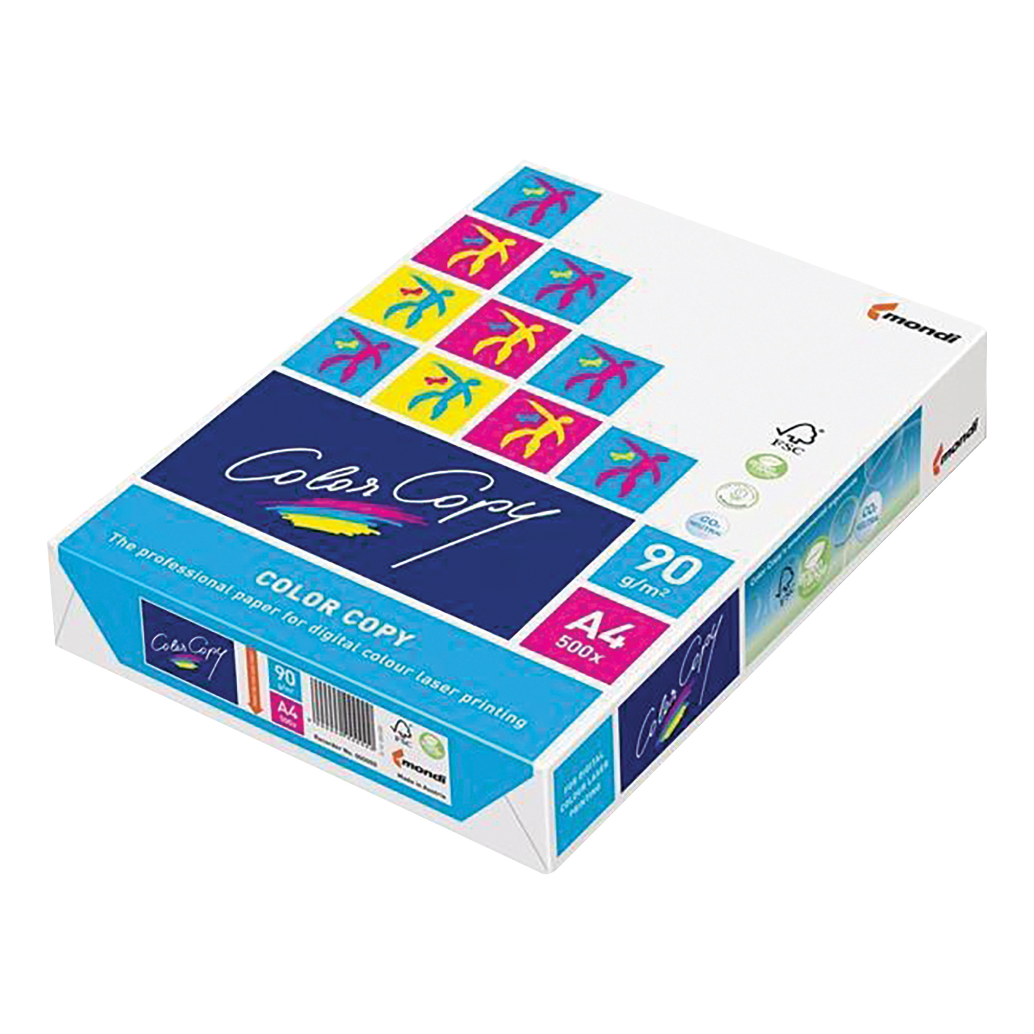 Color Copy Paper Premium Super Smooth FSC Ream-Wrapped 90gsm A4 White Ref CCW0321 [500 Sheets]