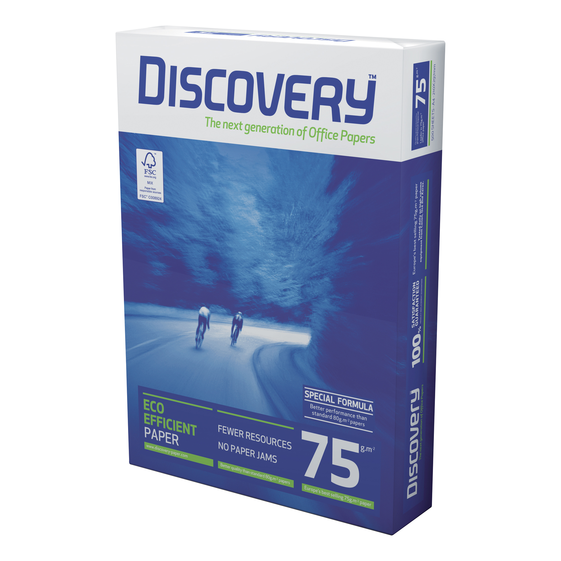 Discovery Everyday Paper FSC 5x Ream-wrapped Pks 75gsm A3 White Ref NDI0750007 500 Sheets