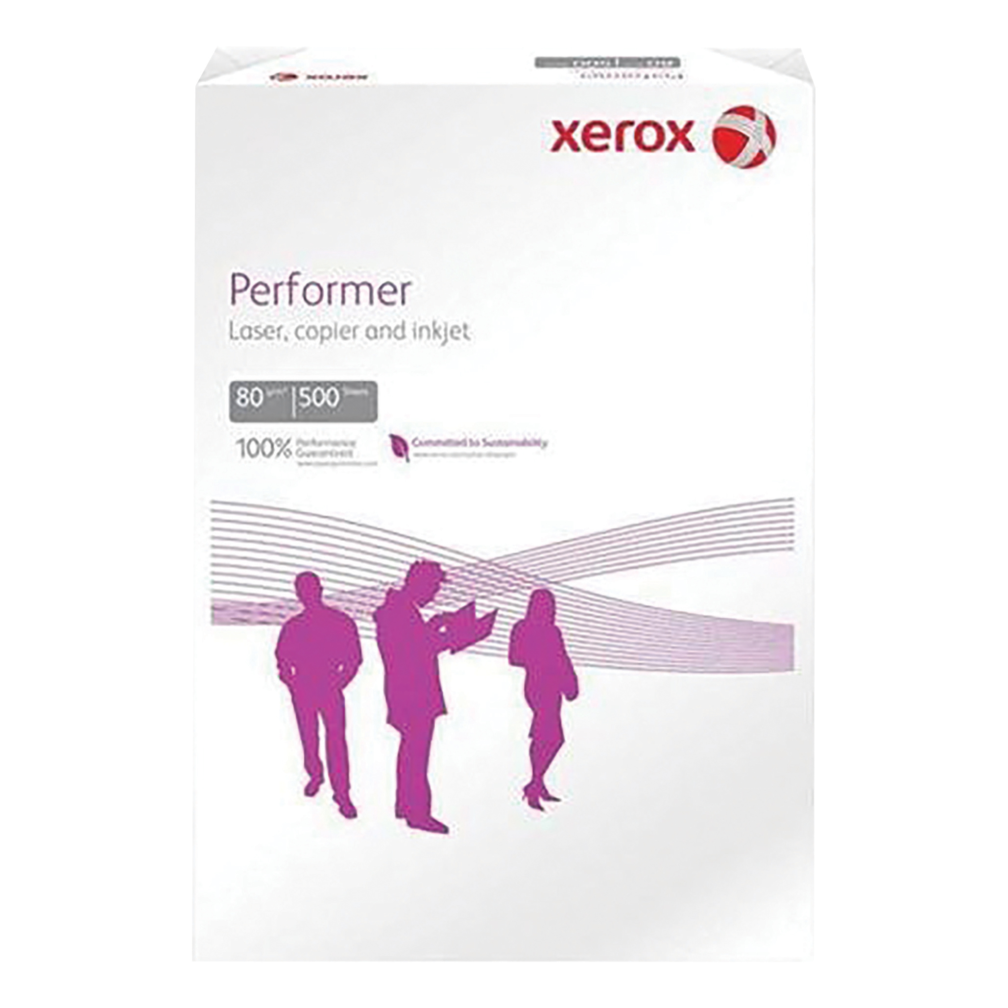Xerox Performer Multifunctional Paper Ream-Wrapped 80gsm A4 White Ref 62304 500 Sheets
