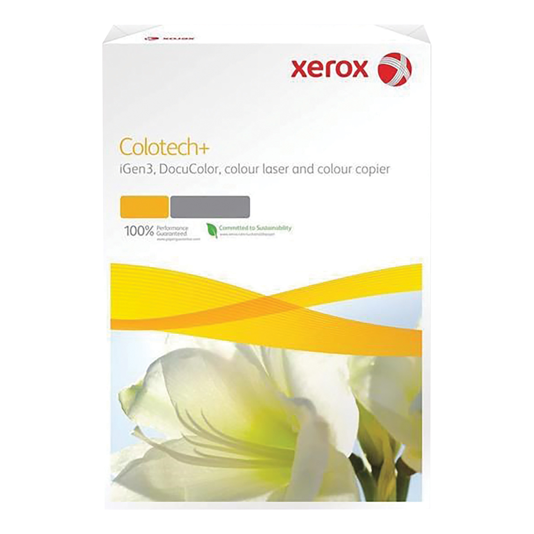 Xerox Colotech+ Digital Colour Paper Premium Ream-Wrapped 120gsm A4 White Ref 63761 [500 Sheets]