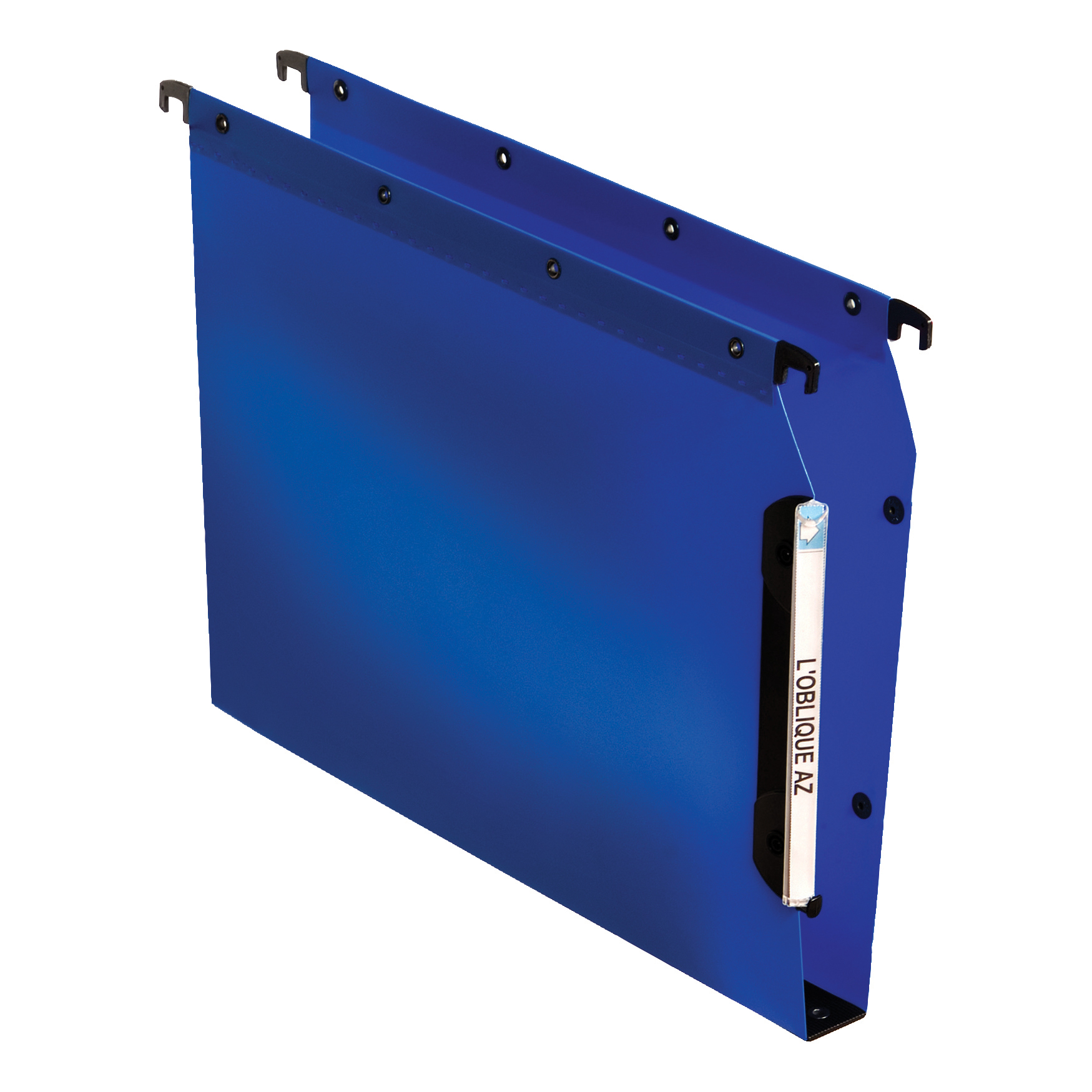 Elba Ultimate Polypro Linking Lateral File Polypropylene 30mm Wide-base A4 Blue Ref 100330584 Pack 25