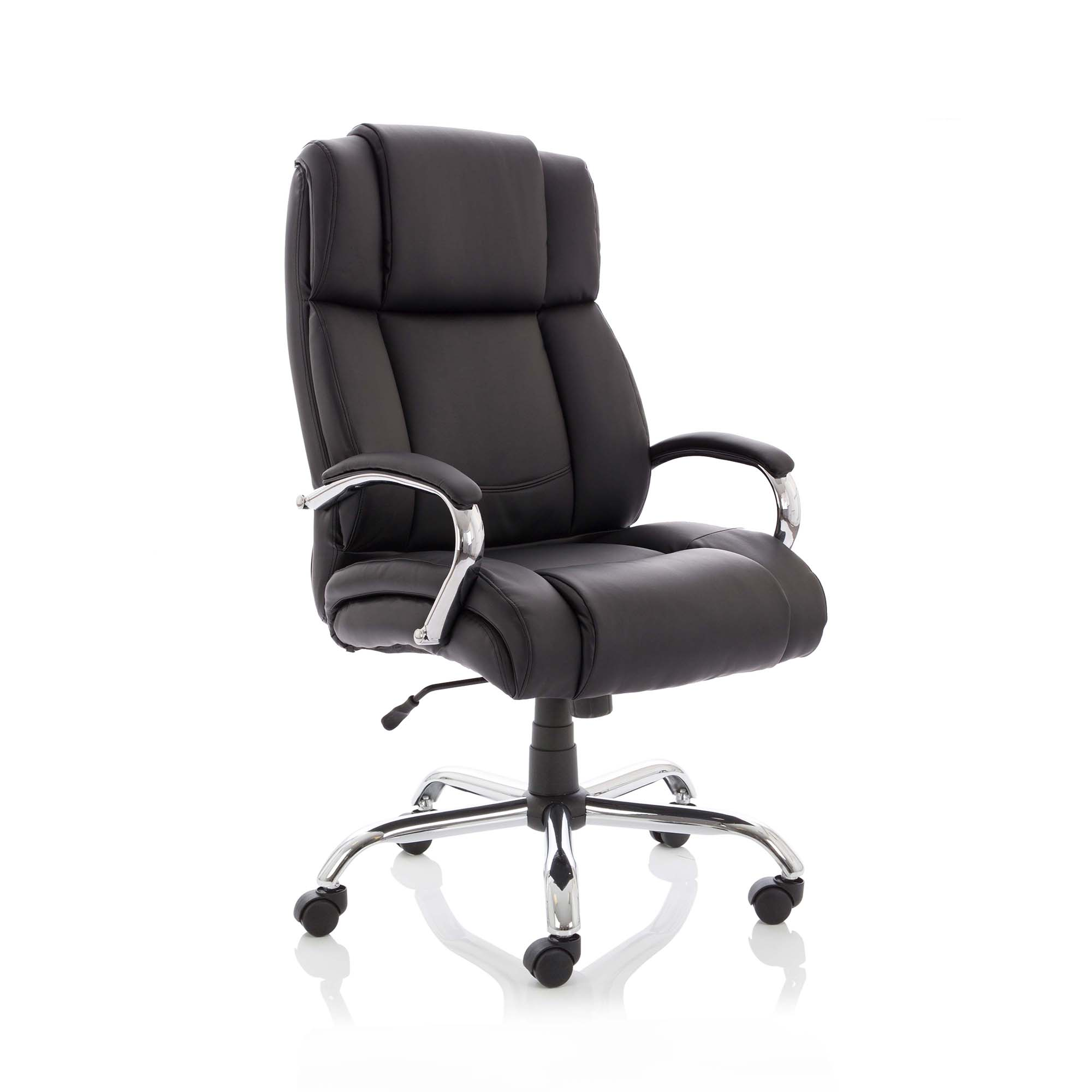 Executive seating Sonix Texas Executive Heavy Duty Chair With Arms Bonded Leather Ref EX000115