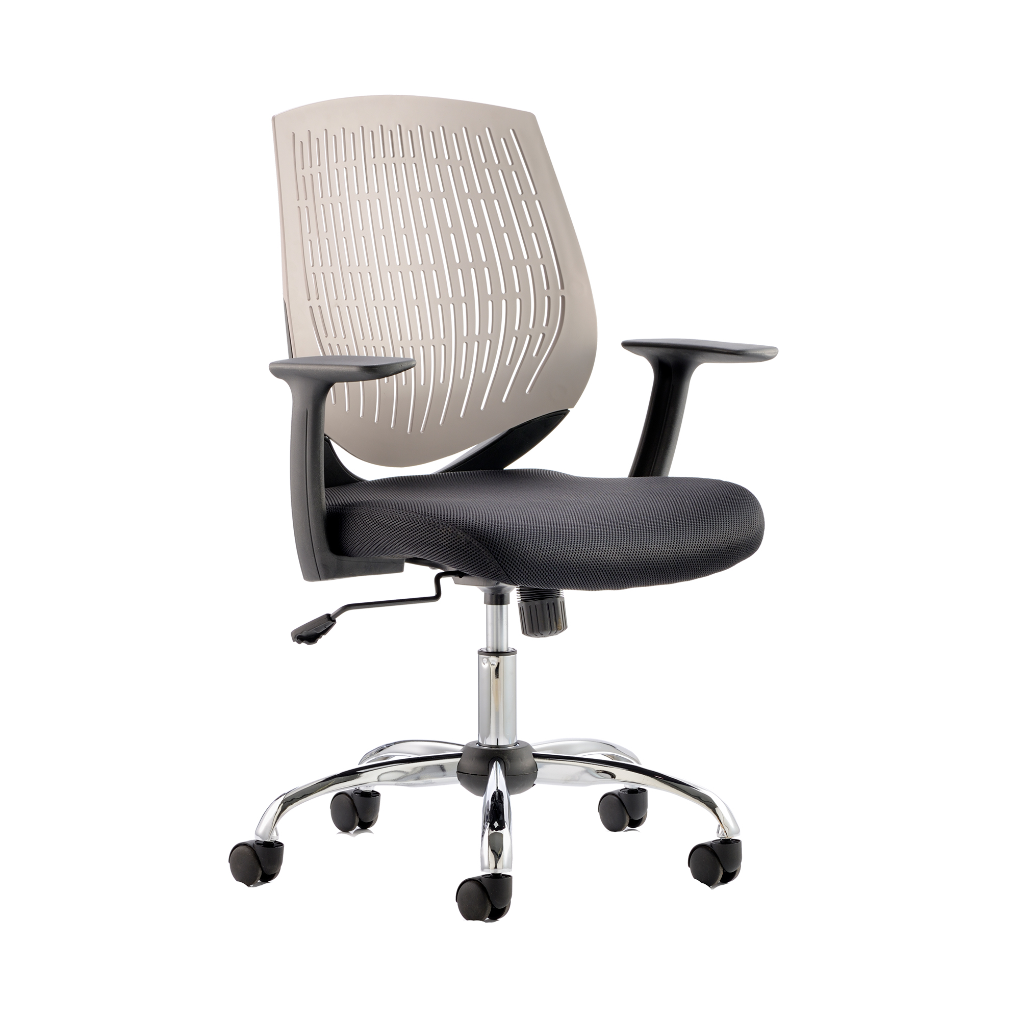 Guest seating Trexus Dura Task Operator Chair With Arms Grey Ref OP000017