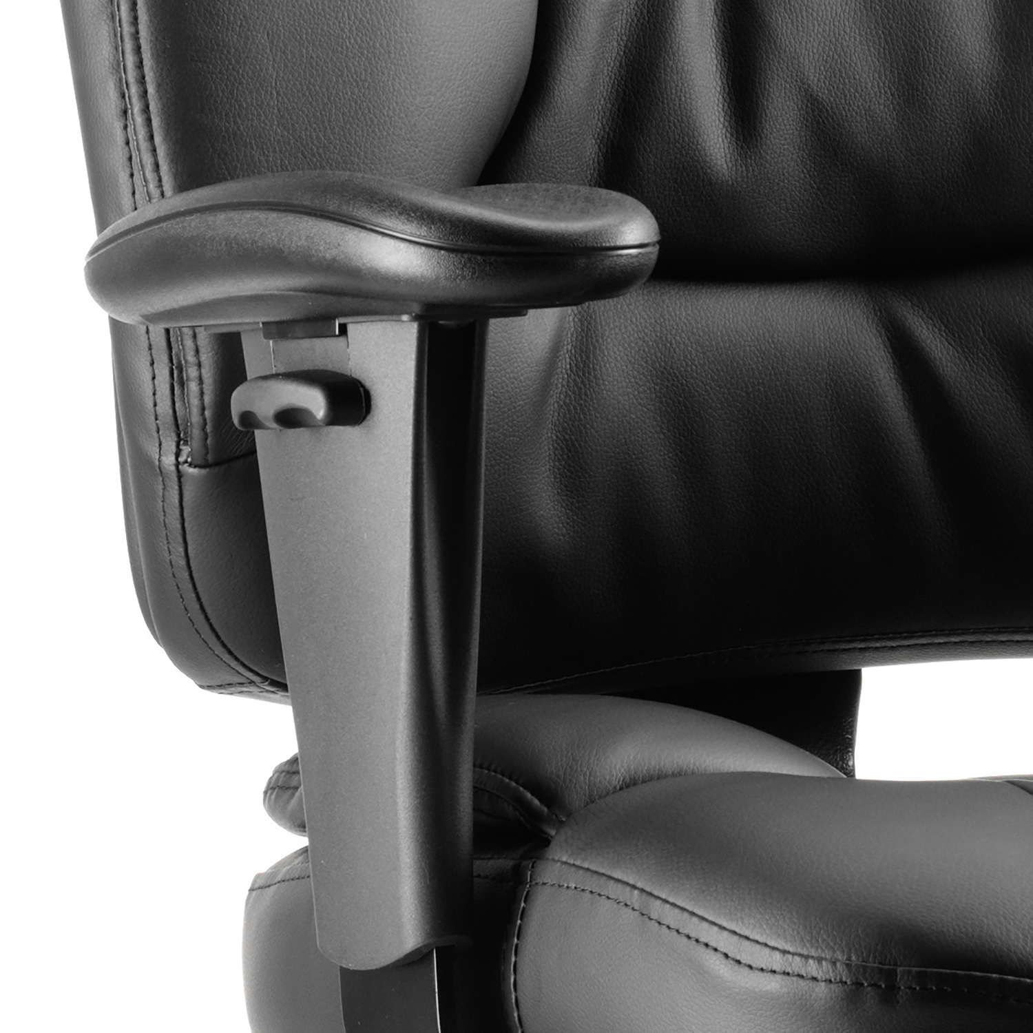 Sonix Galaxy Task Operator Chair With Arms Leather Black Ref OP000068